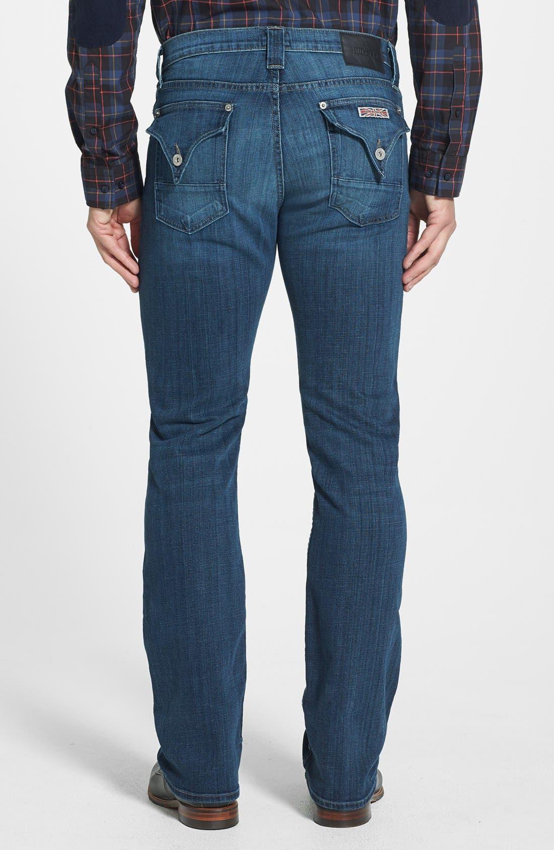 Alternate Image 2  - Hudson Jeans 'Webber' Bootcut Jeans (Harris) (Online Exclusive)