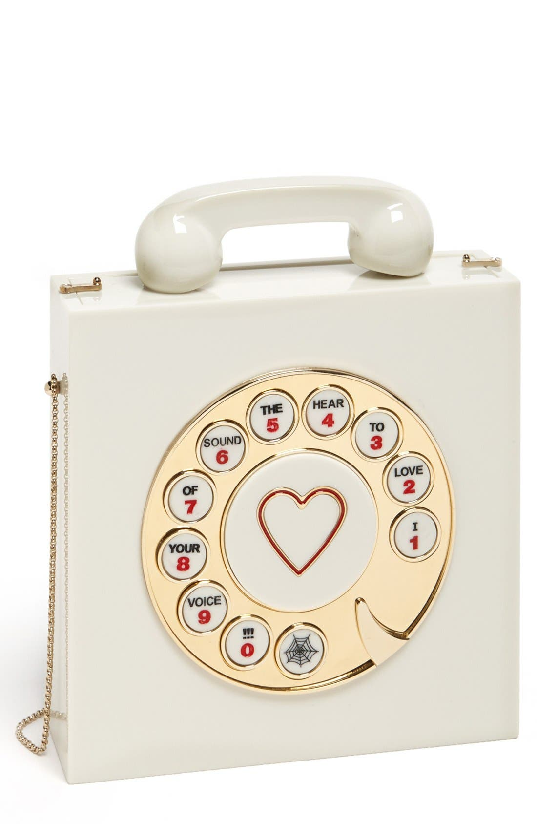 Alternate Image 1 Selected - Charlotte Olympia 'Chatterbox' Clutch