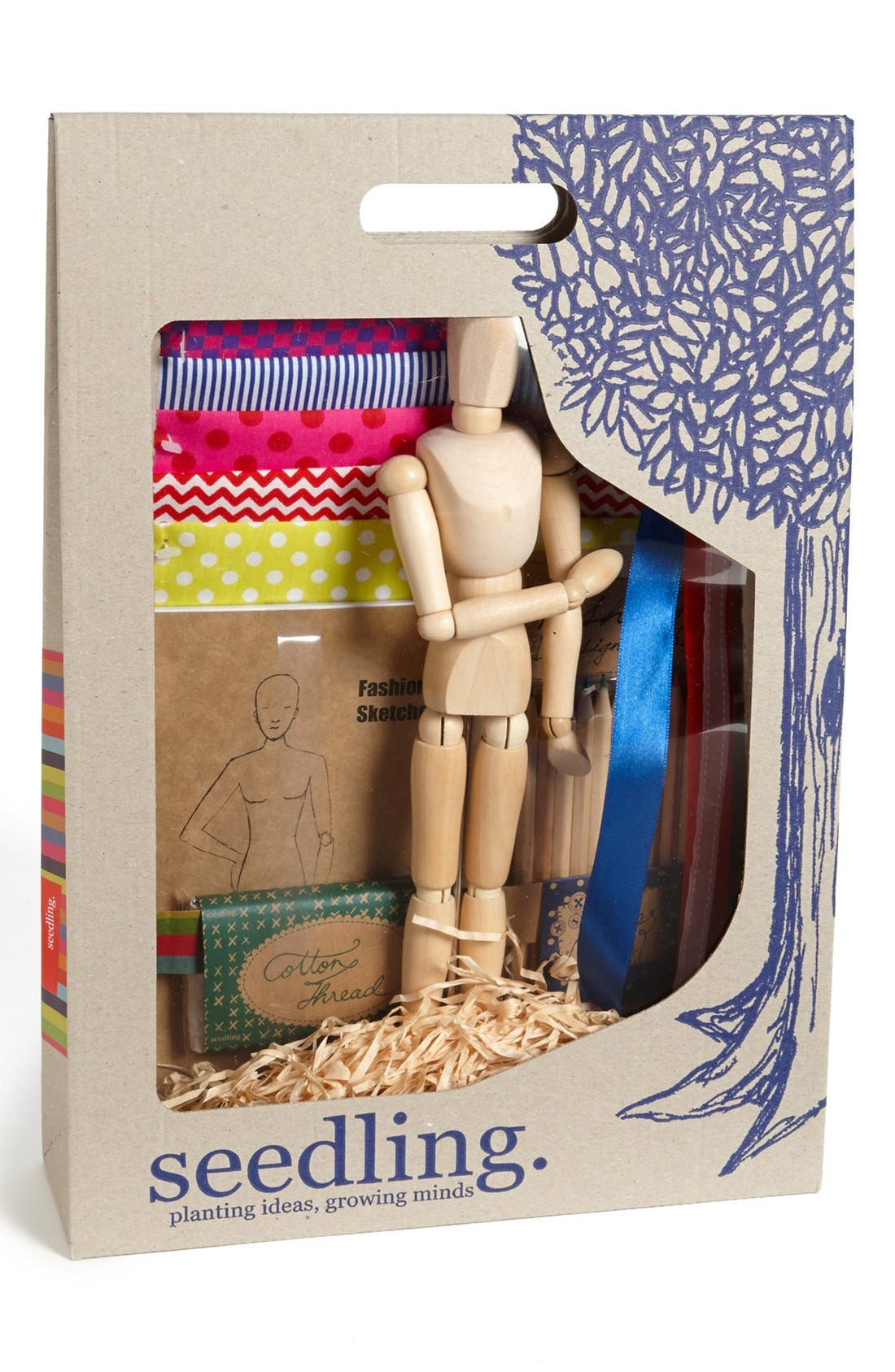 Alternate Image 1 Selected - Seedling 'Fashion Designer's Kit' Craft Kit