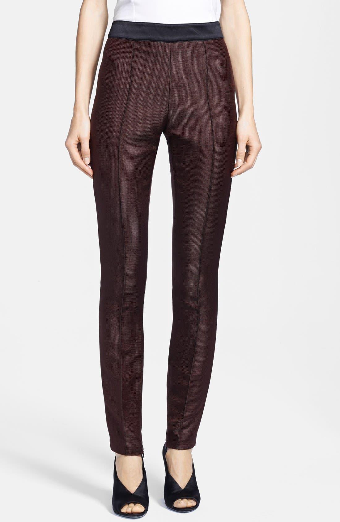 Main Image - Burberry London Slim Ankle Zip Pants
