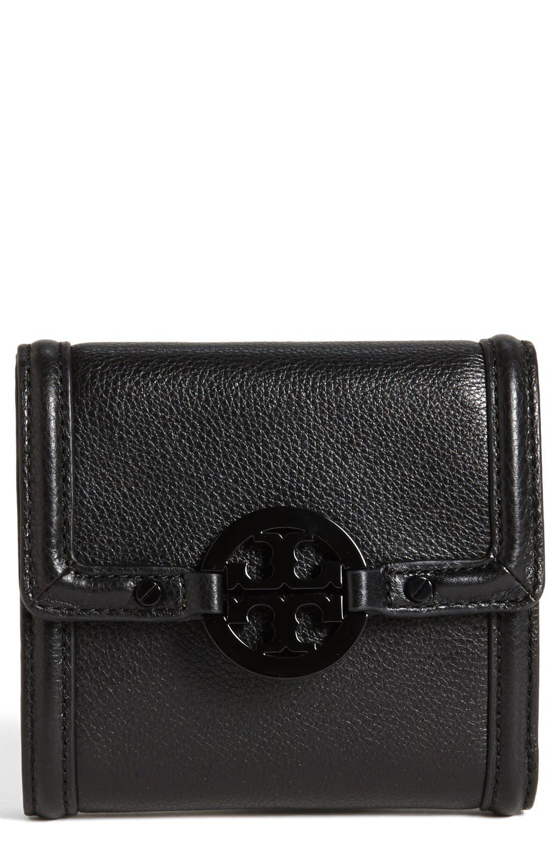 Main Image - Tory Burch 'Amanda' Trifold French Wallet
