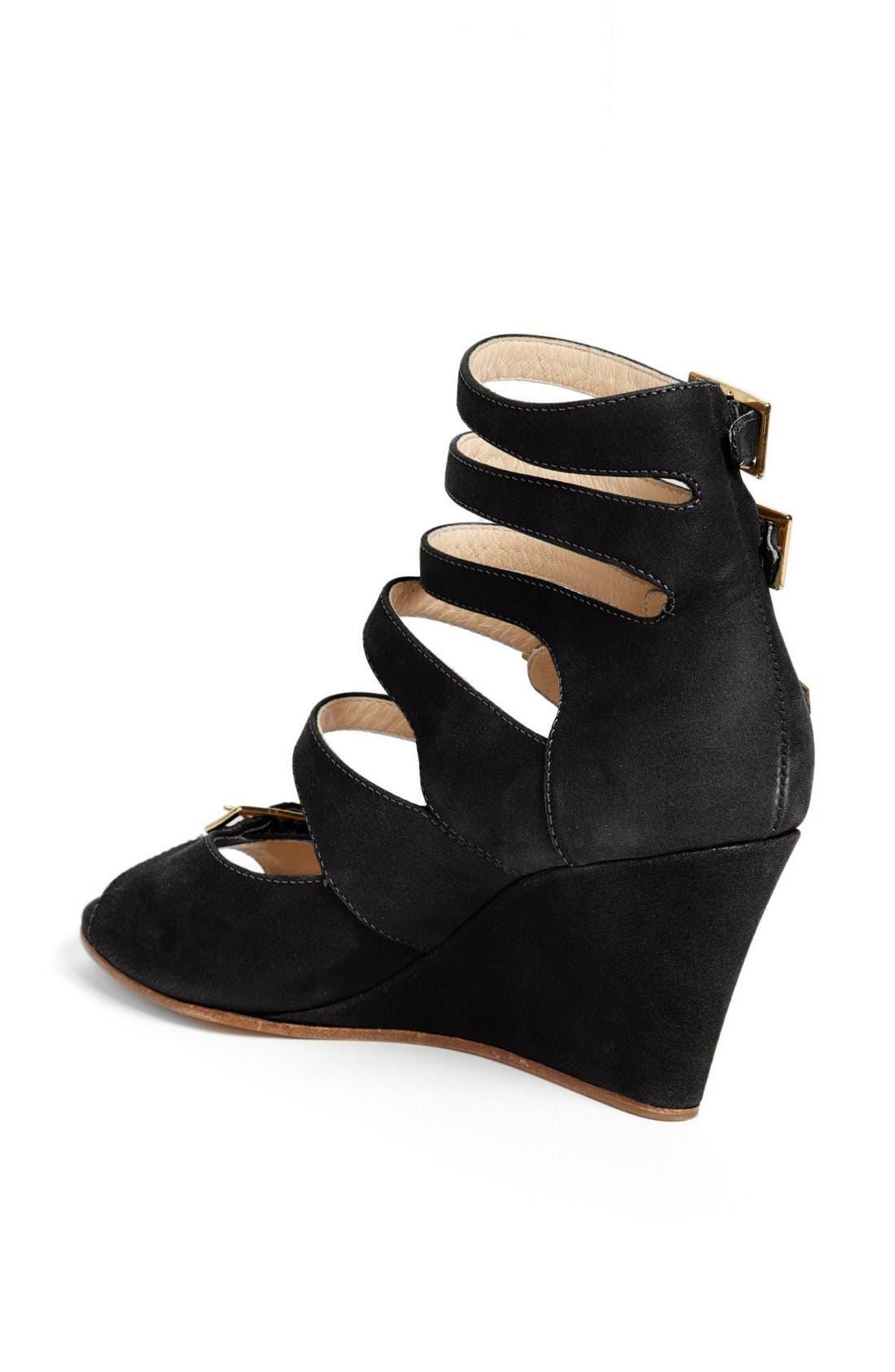 Alternate Image 2  - Chloé 'Arce' Multi Strap Wedge Sandal