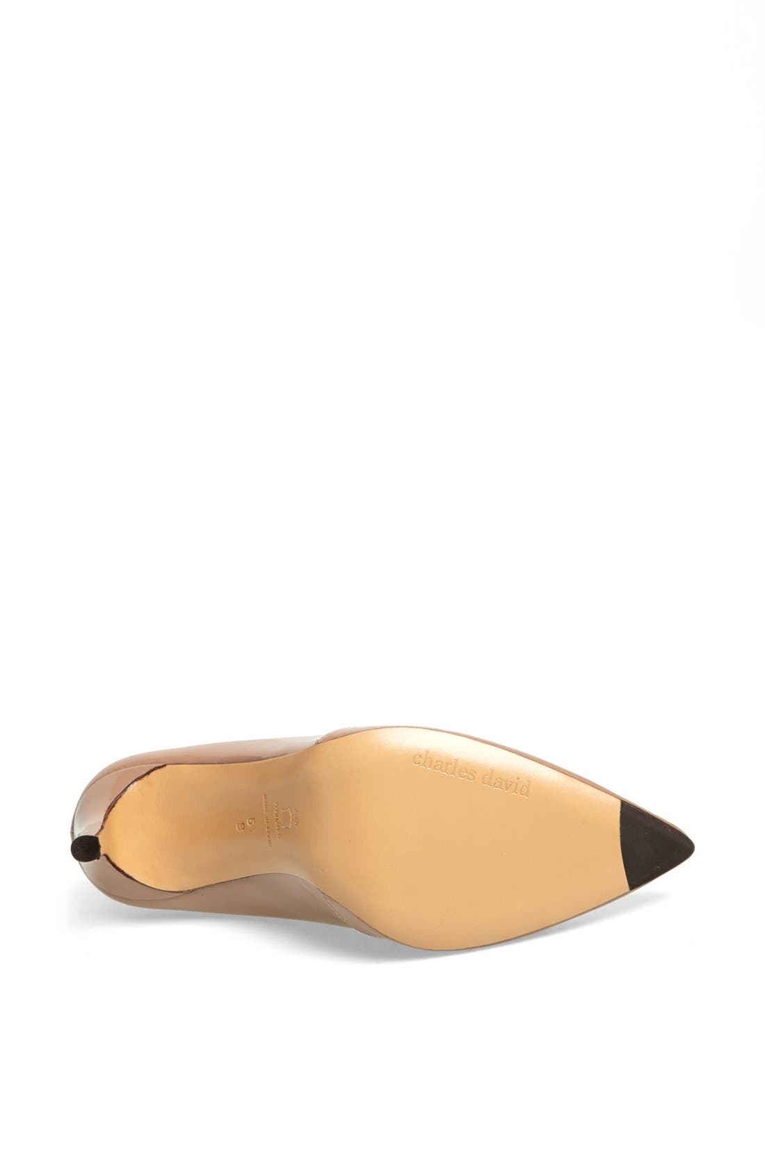 Alternate Image 4  - Charles David 'Passion' Pointy Toe Pump