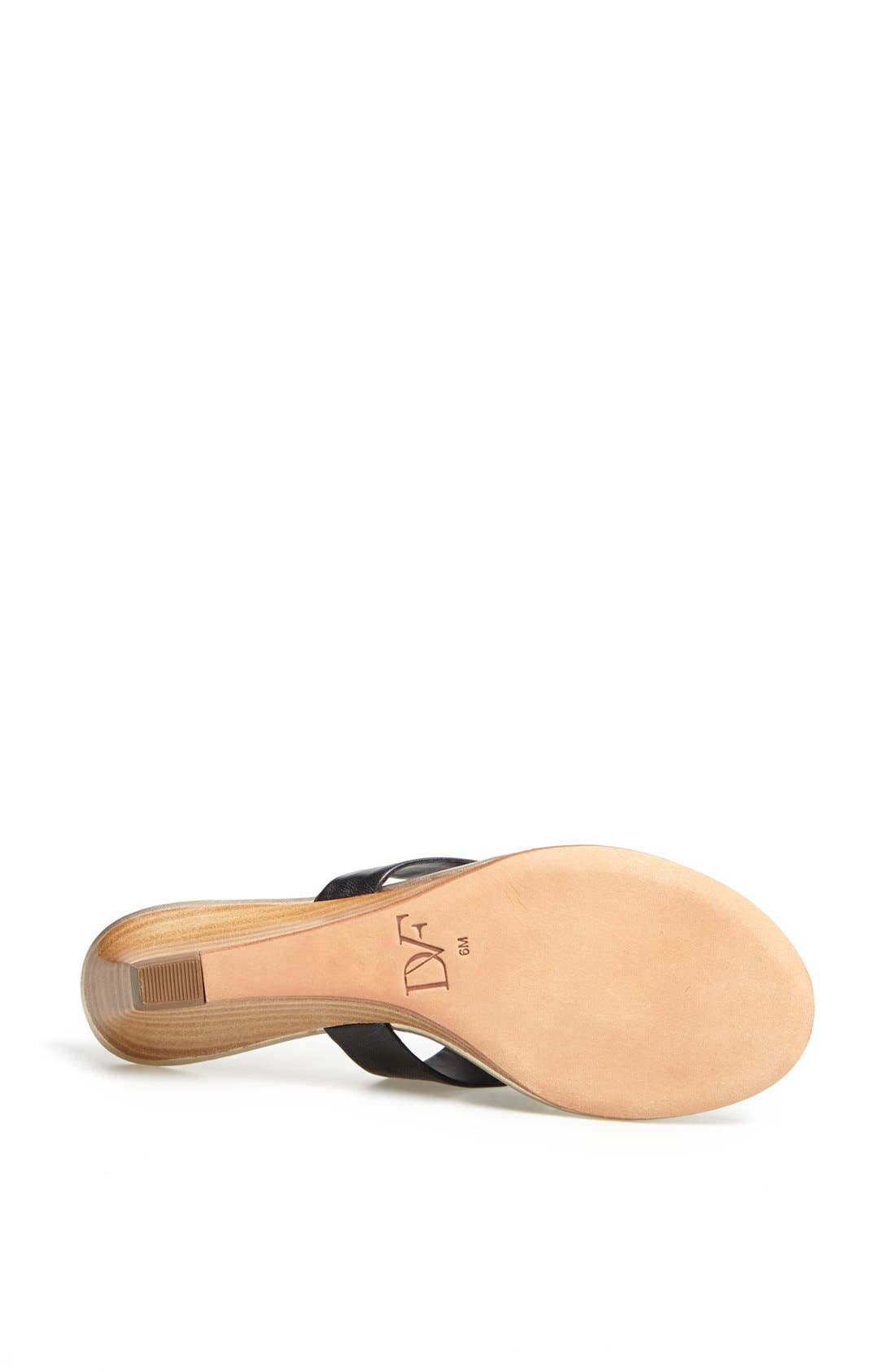 Alternate Image 4  - Diane von Furstenberg 'Tiles' Leather Sandal