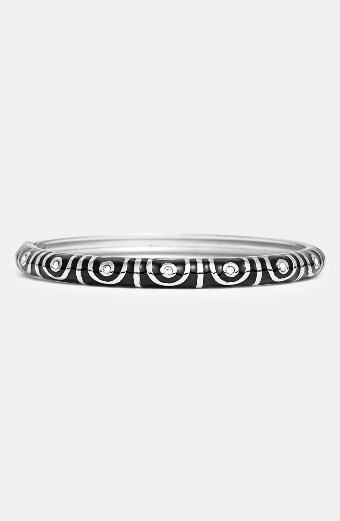 Alternate Image 1 Selected - Sequin Small Hinged Bangle Bracelet
