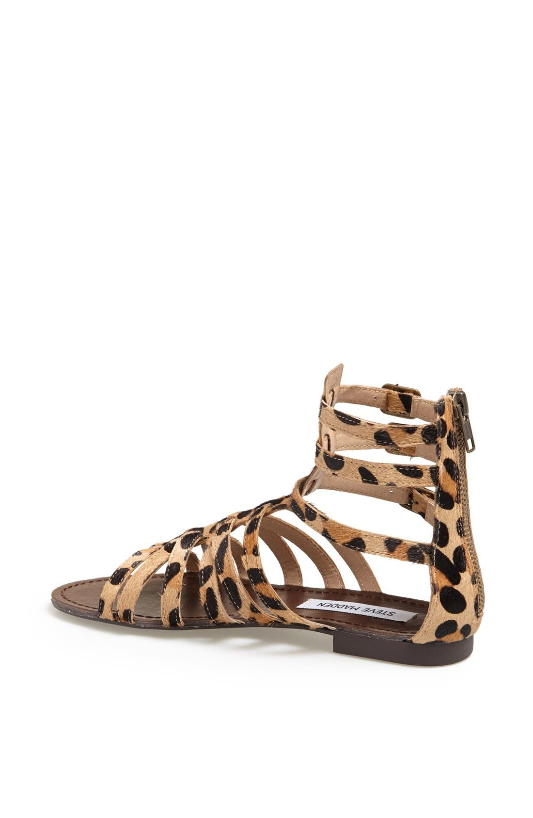 'Plato-S' Sandal,                             Alternate thumbnail 2, color,                             Leopard Stud