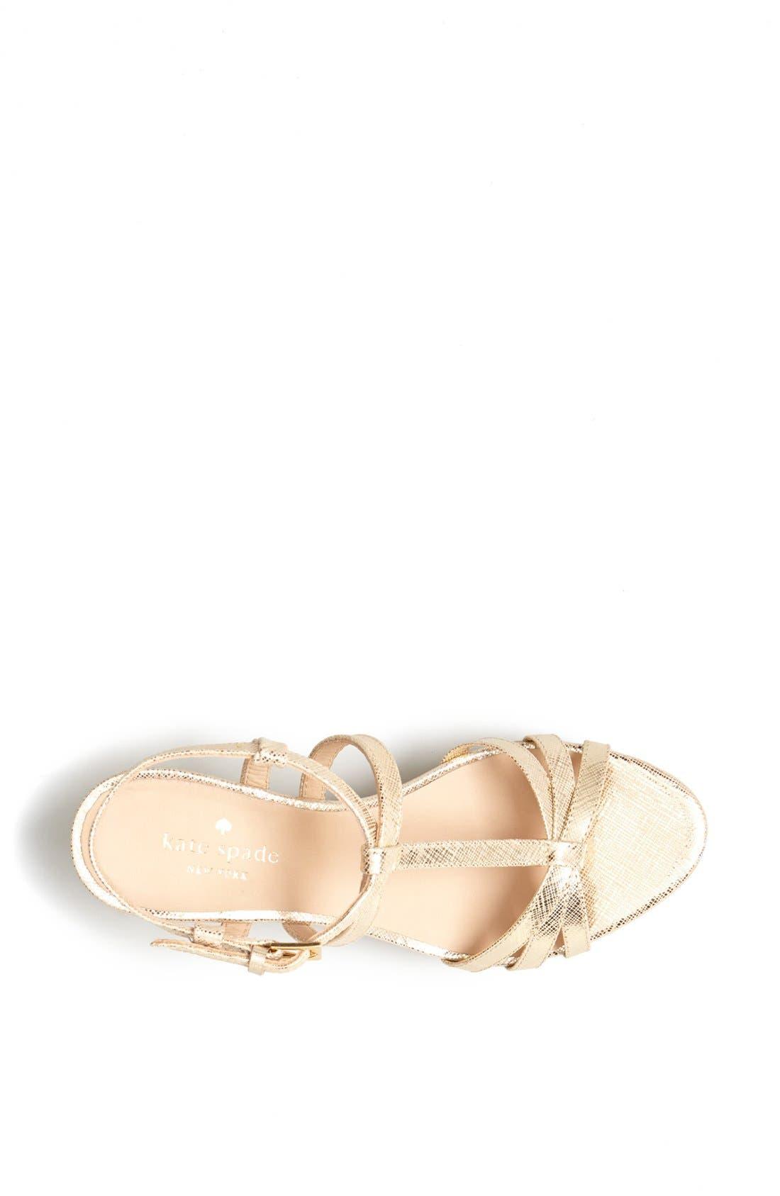 Alternate Image 3  - kate spade new york 'tropez' wedge platform sandal