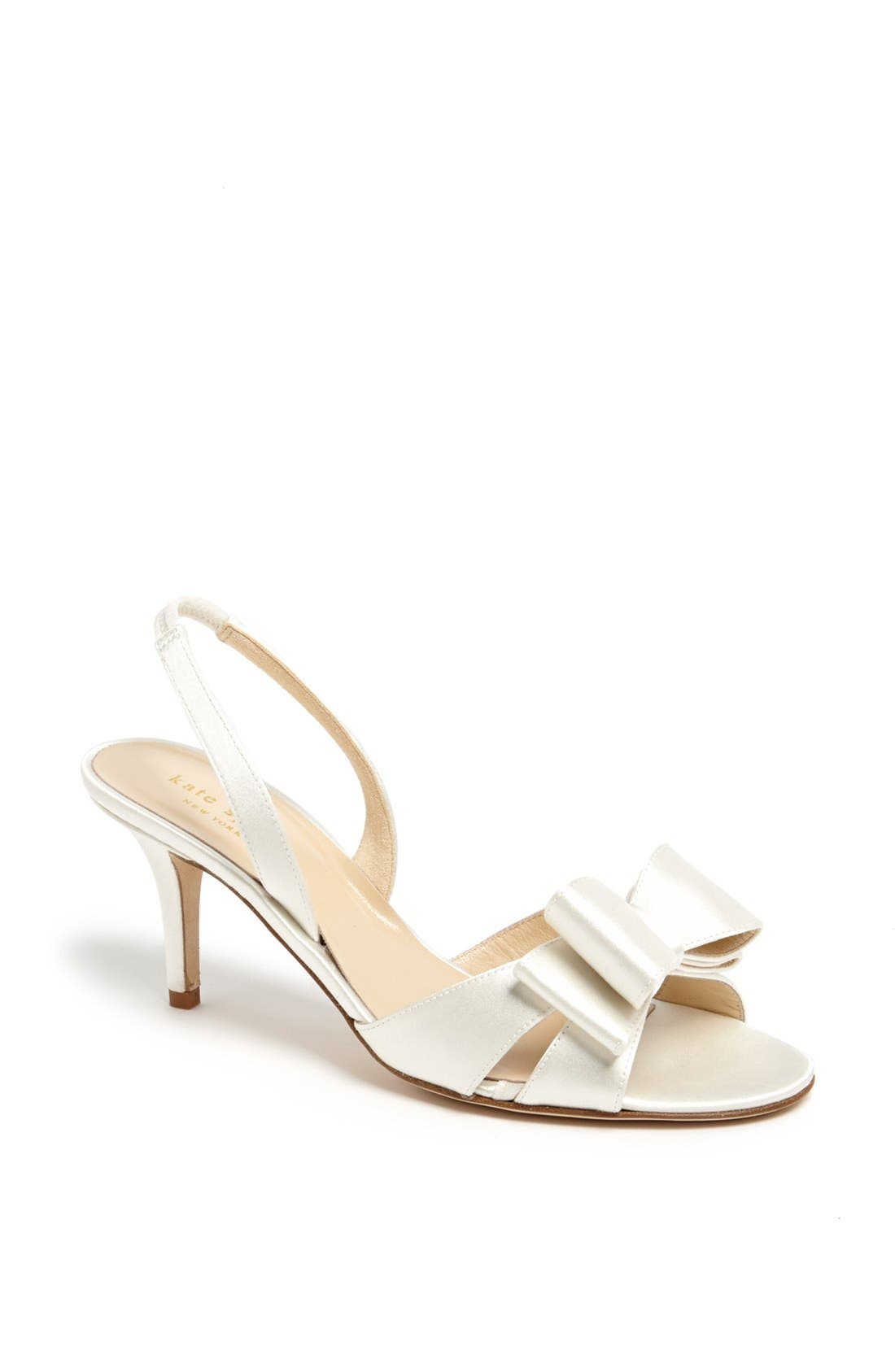 Alternate Image 1 Selected - kate spade new york 'micah' satin sandal