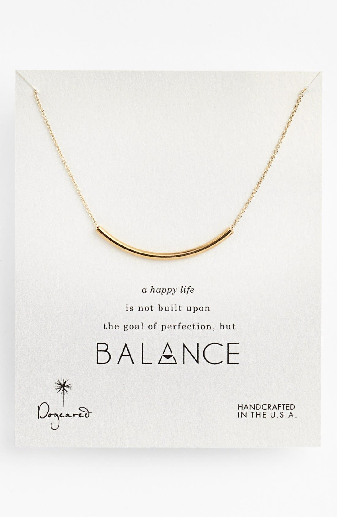 Alternate Image 1 Selected - Dogeared 'Balance' Necklace