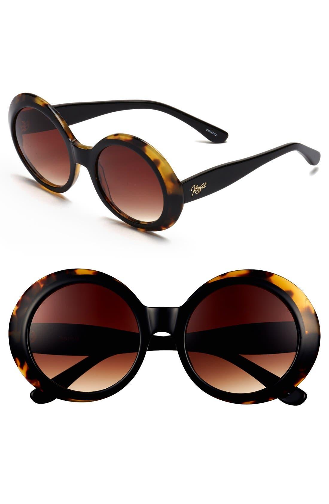Main Image - kensie 'Neve' 50mm Oversized Sunglasses