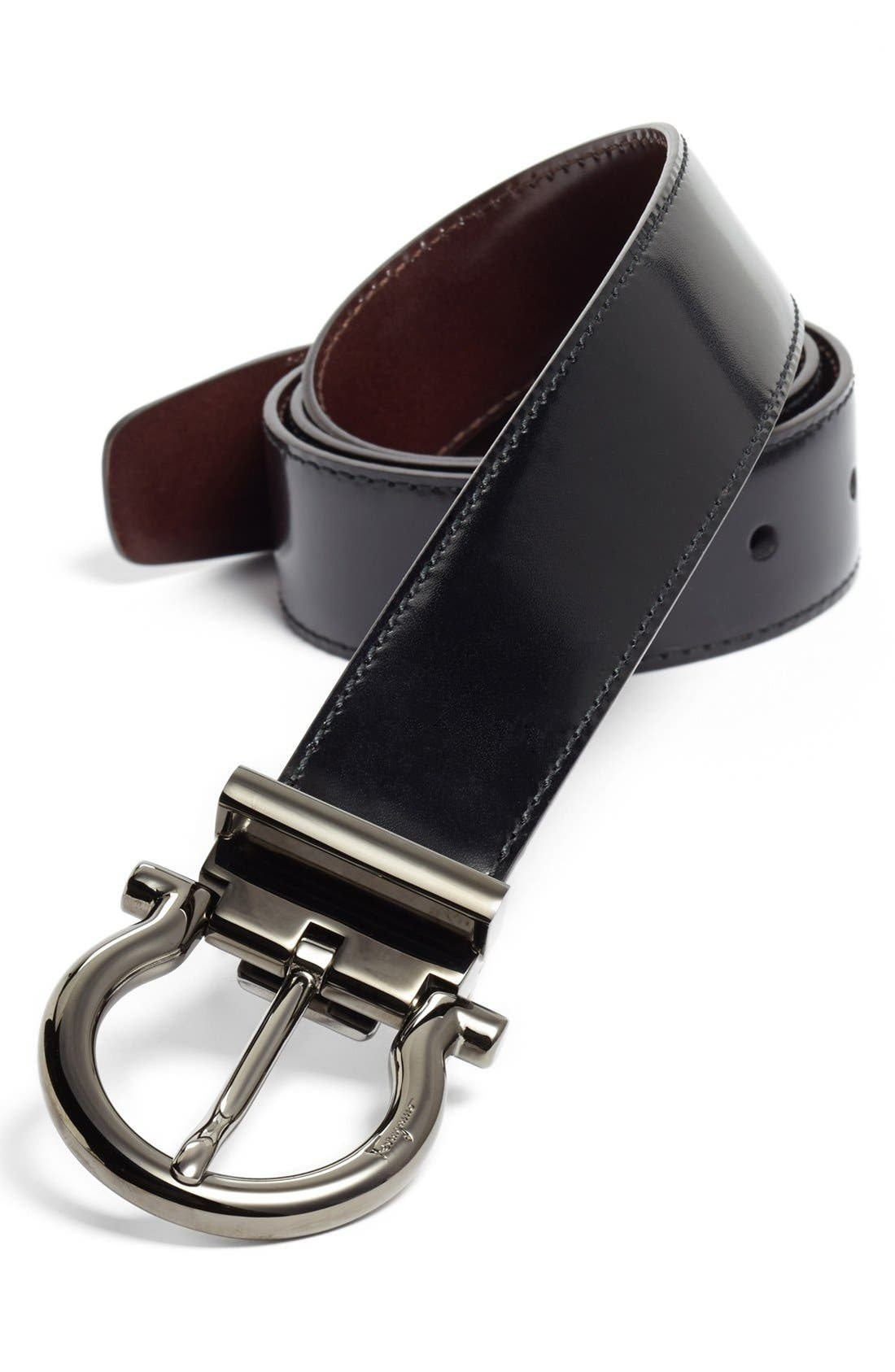 Alternate Image 1 Selected - Salvatore Ferragamo Reversible Adjustable Belt