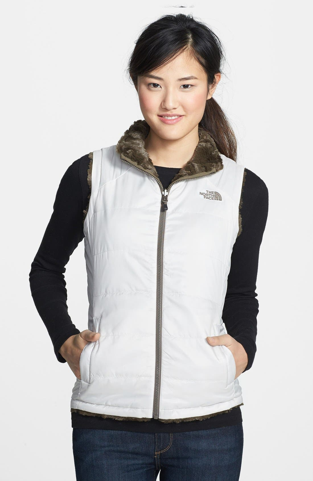 Alternate Image 1 Selected - The North Face 'Mossbud Swirl' Insulated Reversible Vest