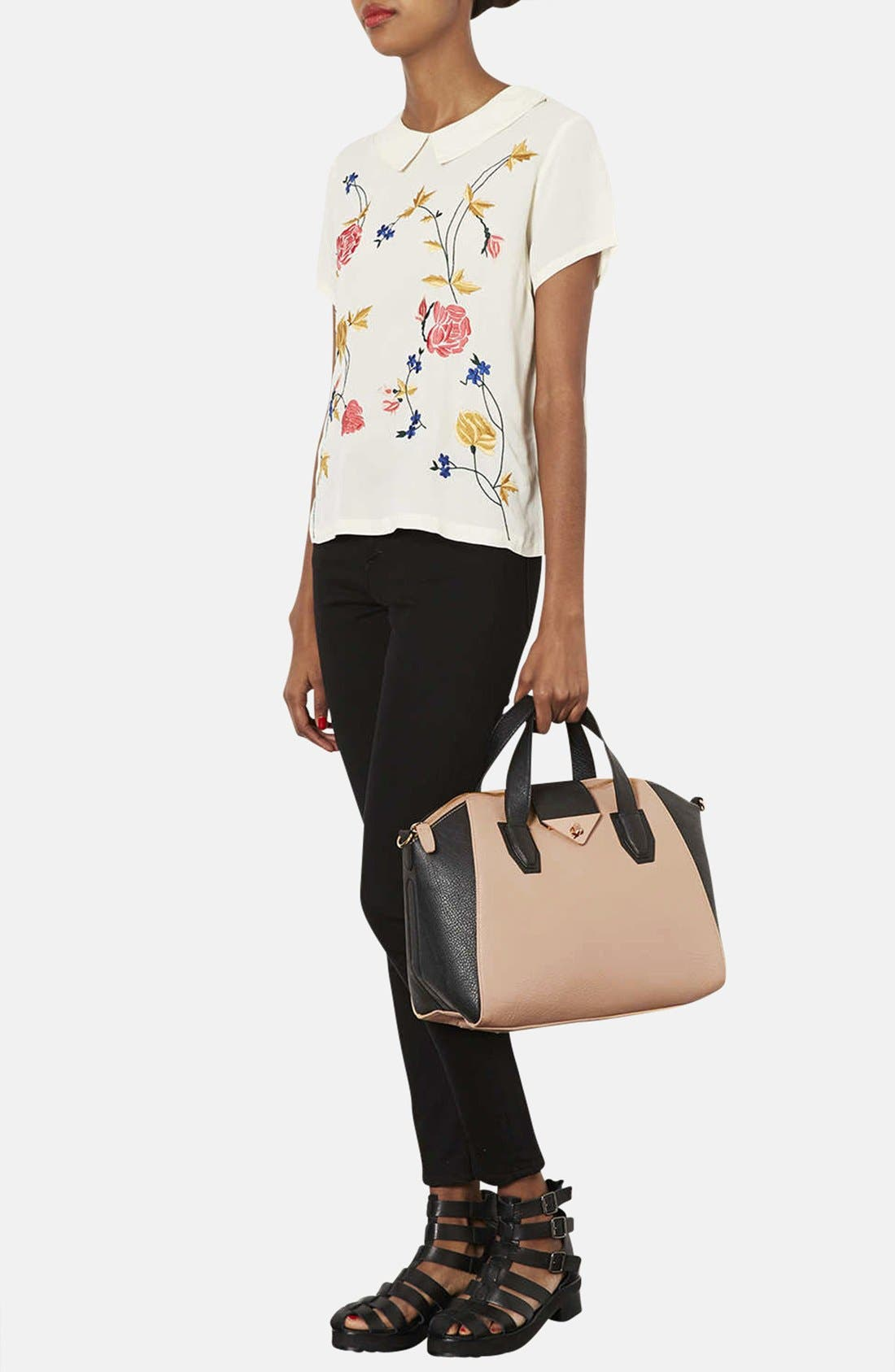 Alternate Image 2  - Topshop 'Evian' Satchel, Medium