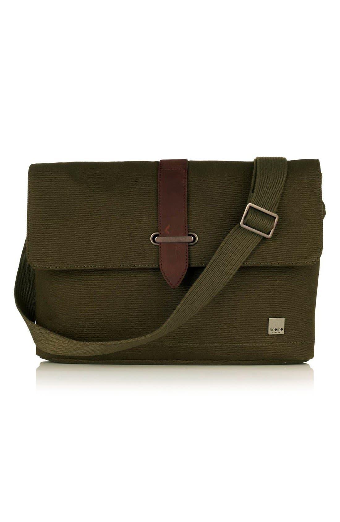 Alternate Image 1 Selected - KNOMO London 'Troon' Messenger Bag