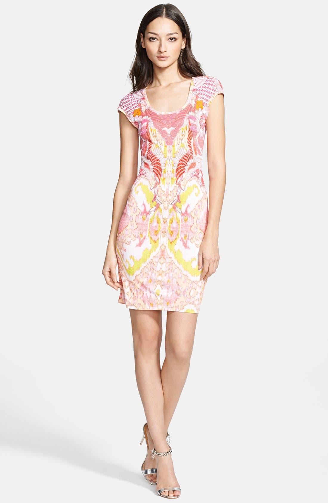 Alternate Image 1 Selected - Roberto Cavalli Print Jersey Dress
