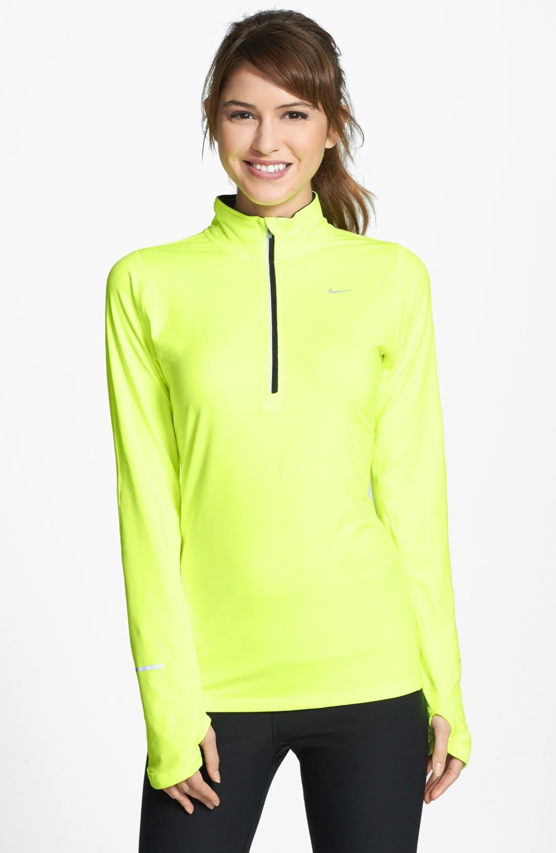 Alternate Image 1 Selected - Nike 'Element' Half Zip Top