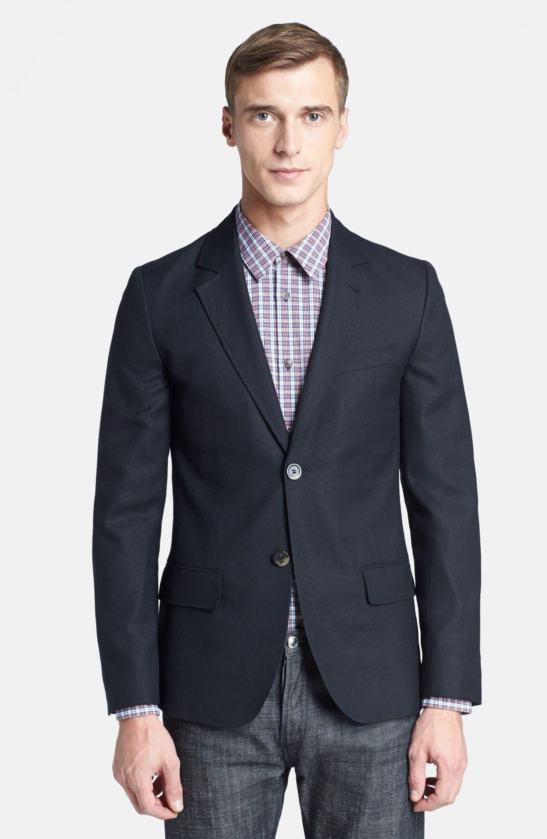 Alternate Image 1 Selected - A.P.C. Lightweight Wool Blazer
