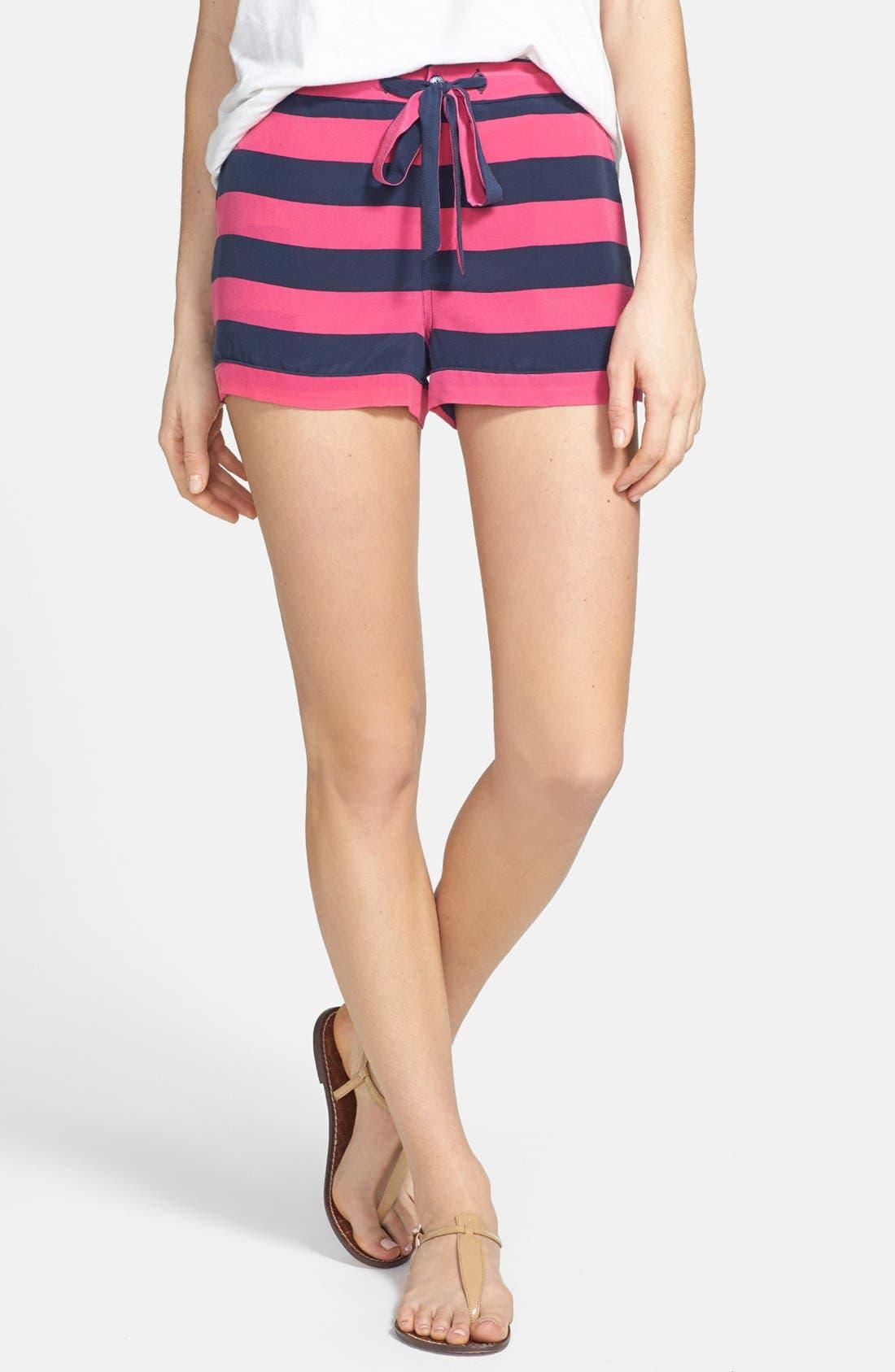 Alternate Image 1 Selected - Equipment 'Lillian' Pajama Shorts