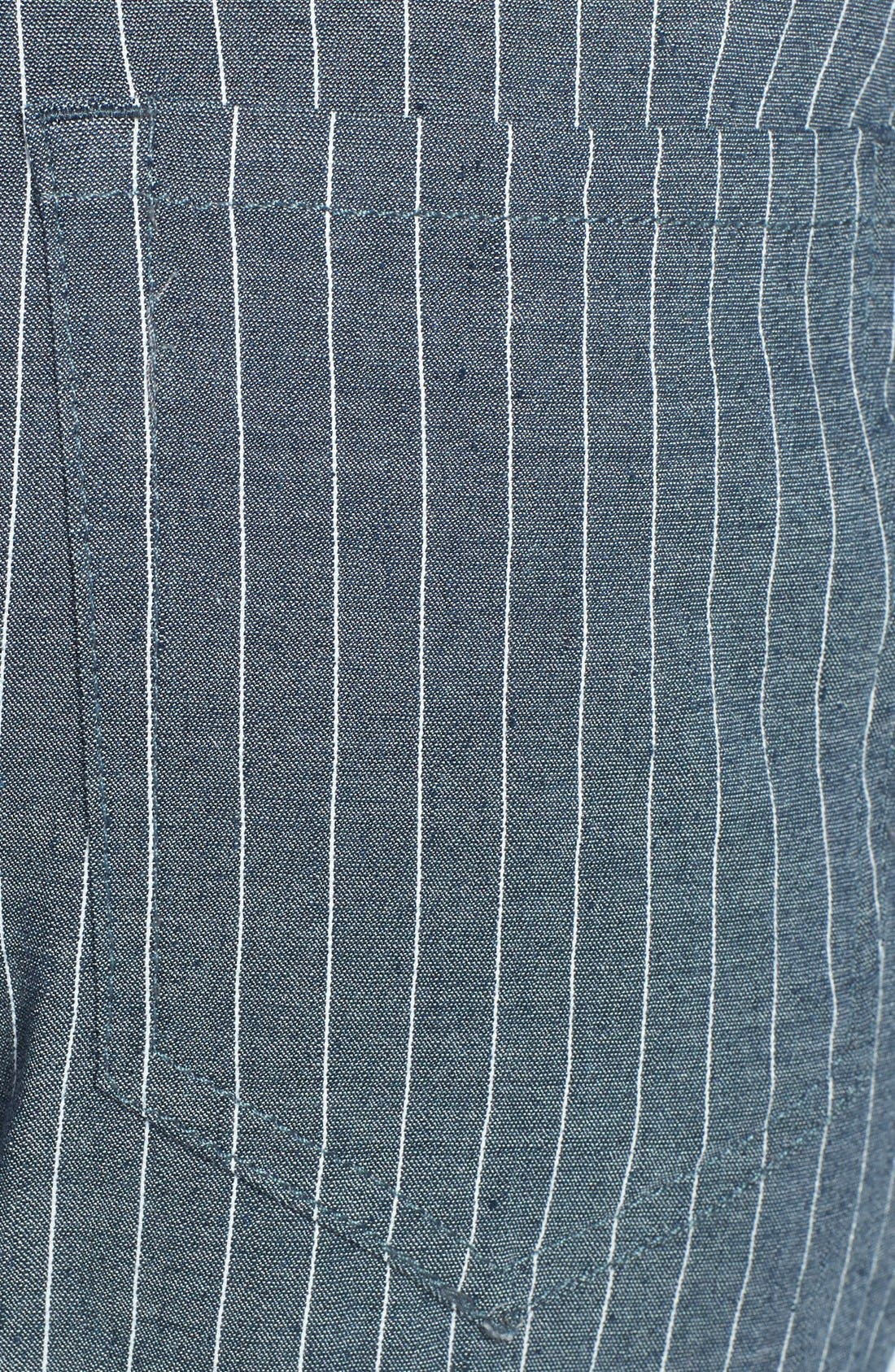 Alternate Image 3  - Theory 'Jordin W.' Crop Chambray Pants