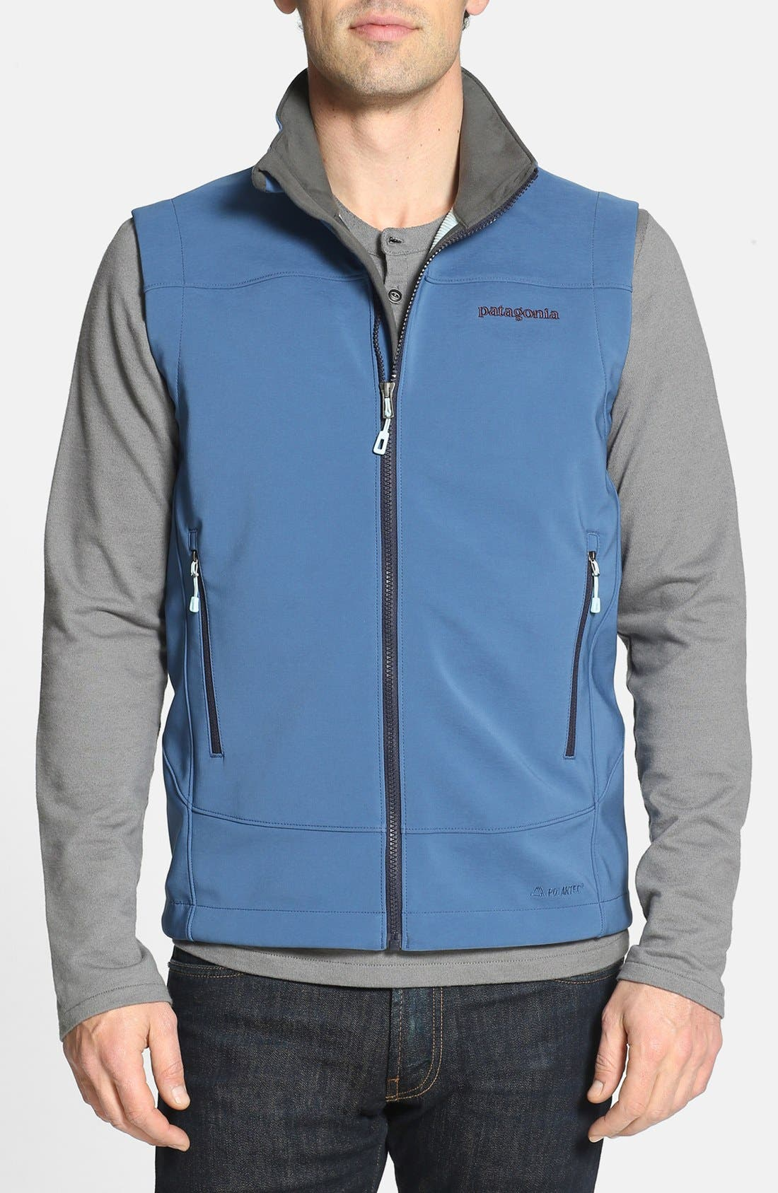 Alternate Image 1 Selected - Patagonia 'Adze' Soft Shell Vest