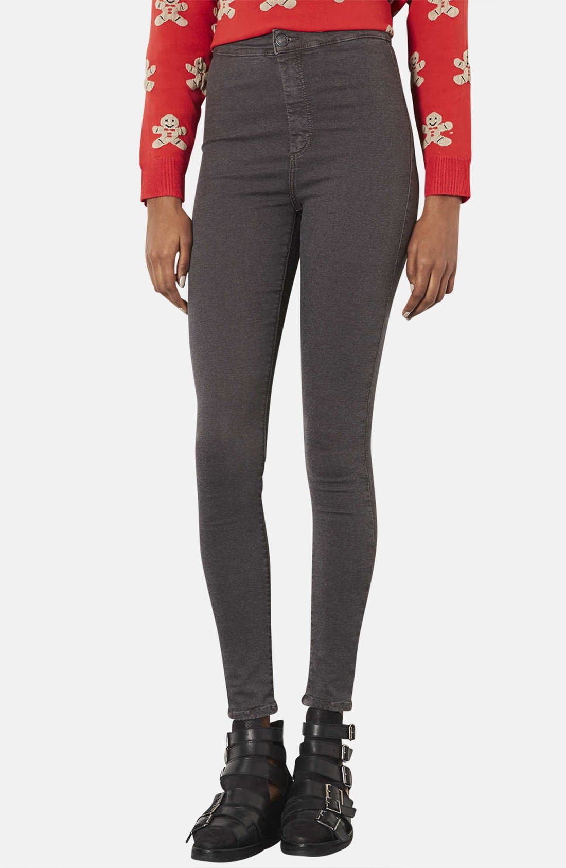 Alternate Image 1 Selected - Topshop Moto 'Joni' High Rise Skinny Jeans (Regular & Short)