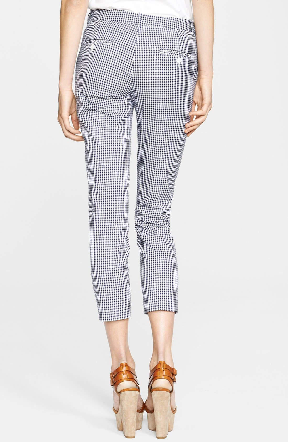 Alternate Image 2  - Michael Kors 'Samantha' Gingham Pants