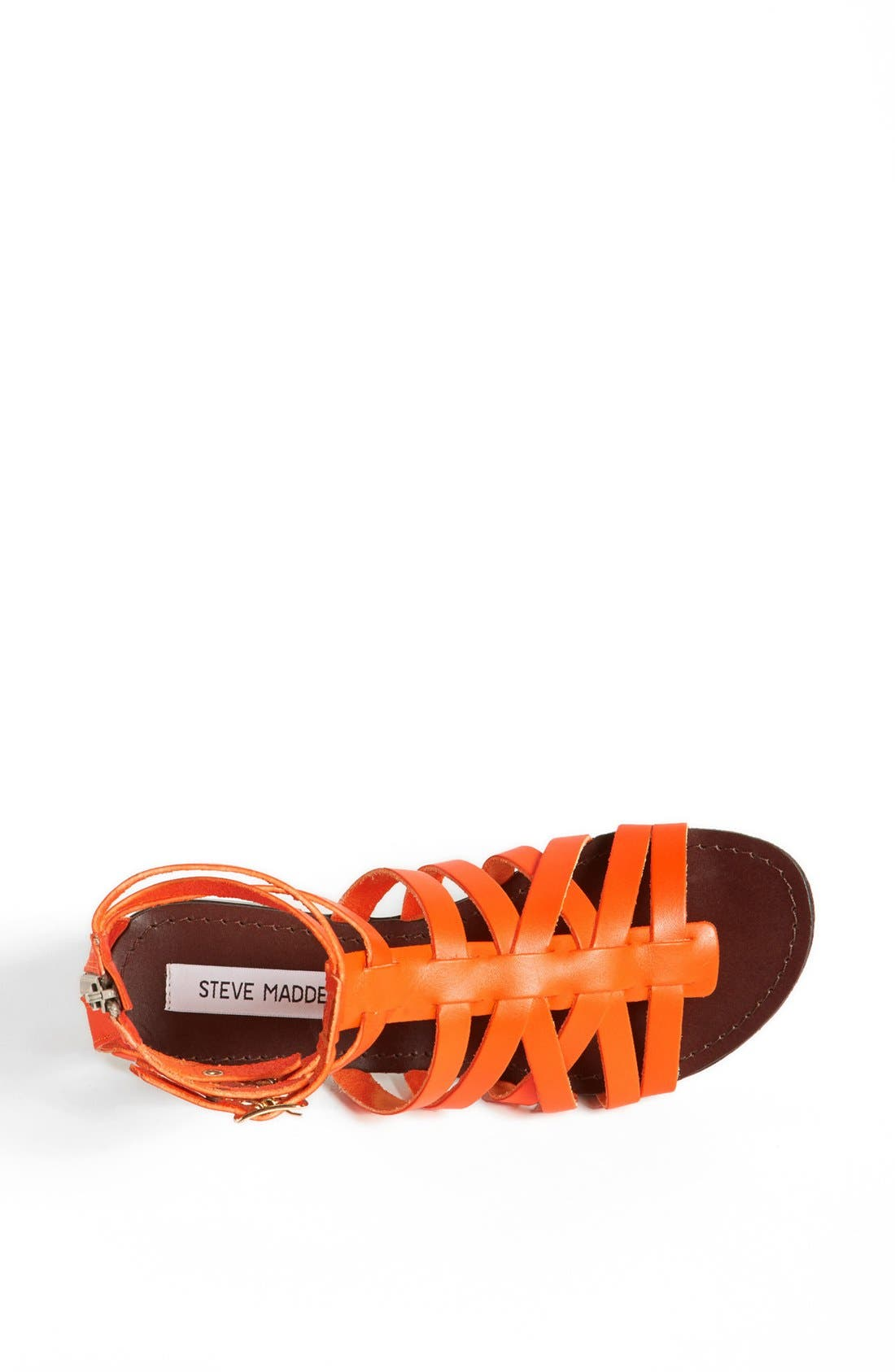 'Plato' Sandal,                             Alternate thumbnail 3, color,                             Orange