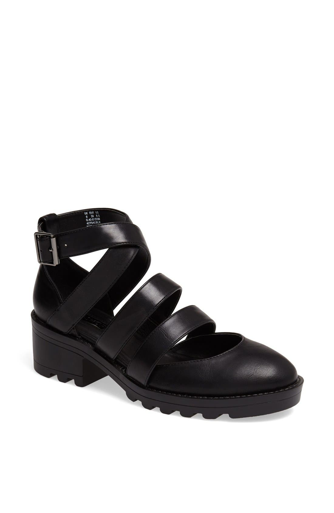 Alternate Image 1 Selected - Topshop 'Mingle' Strappy Shoe