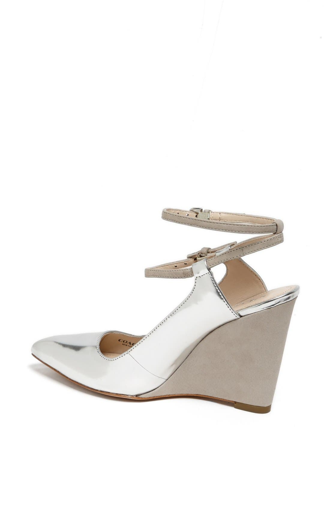 Alternate Image 2  - COACH 'Ollie' Pointy Toe Wedge Pump