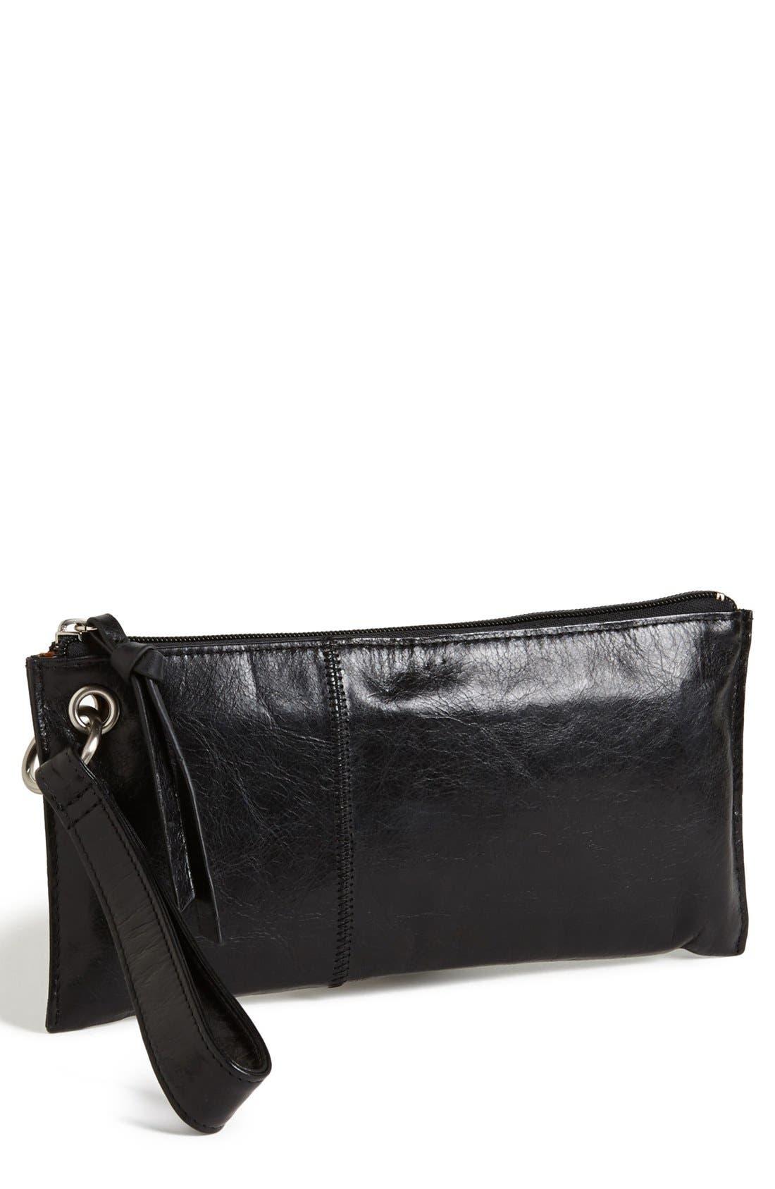 Alternate Image 1 Selected - Hobo 'Vida' Leather Clutch