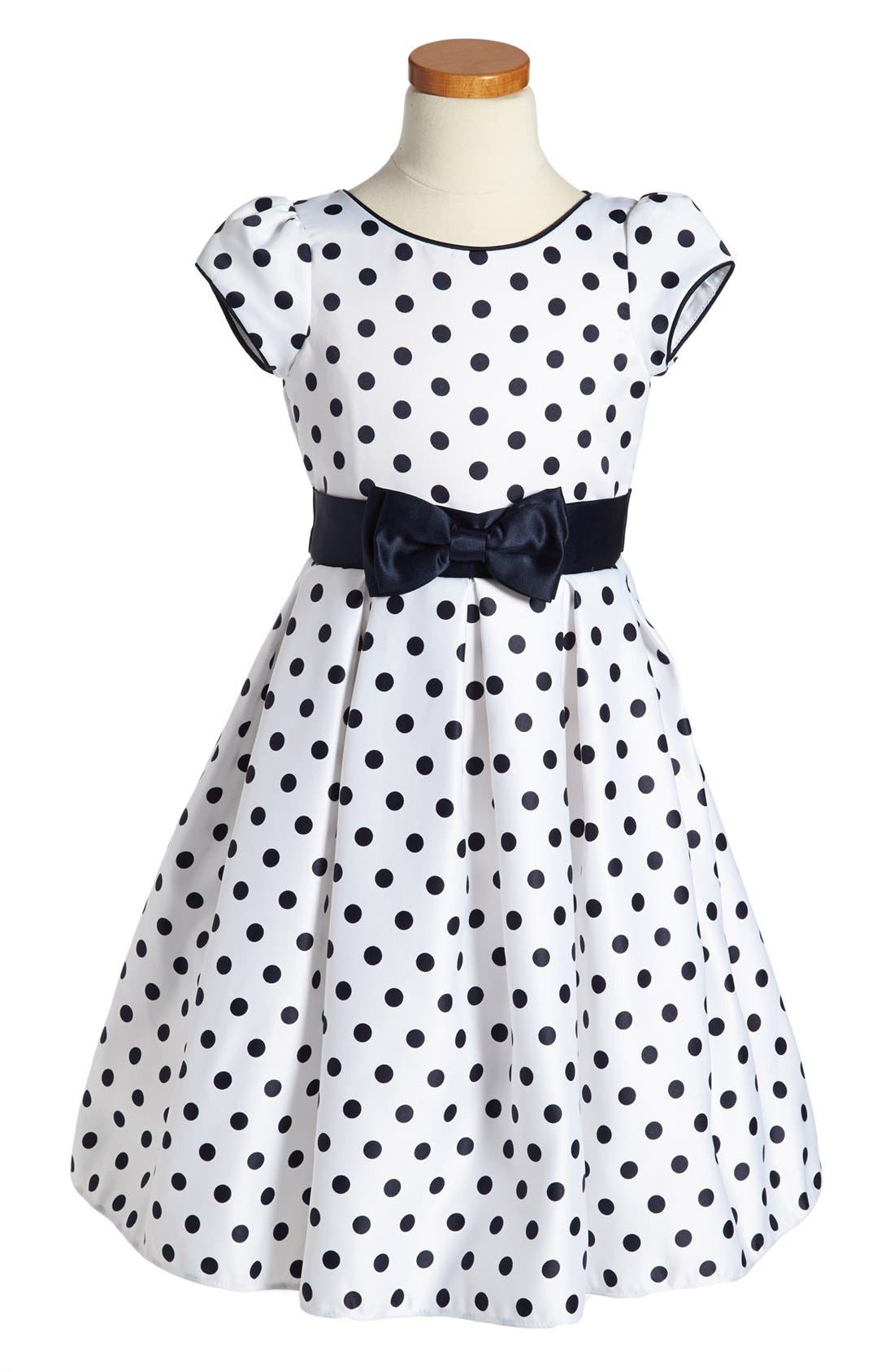 Main Image - Dorissa 'Dotty' Dress (Little Girls)