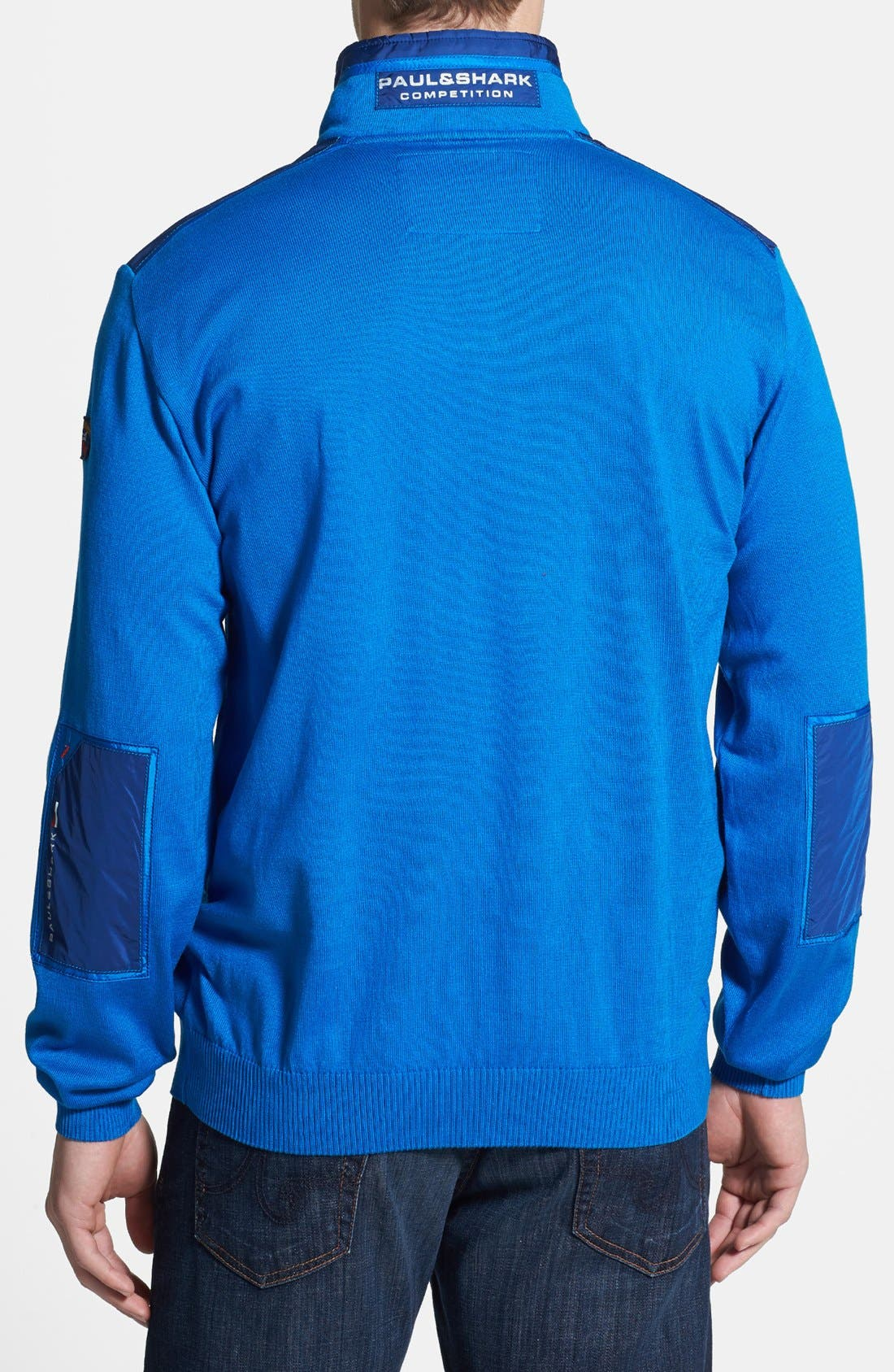 Alternate Image 2  - Paul & Shark Classic Fit Quarter Zip Sweater