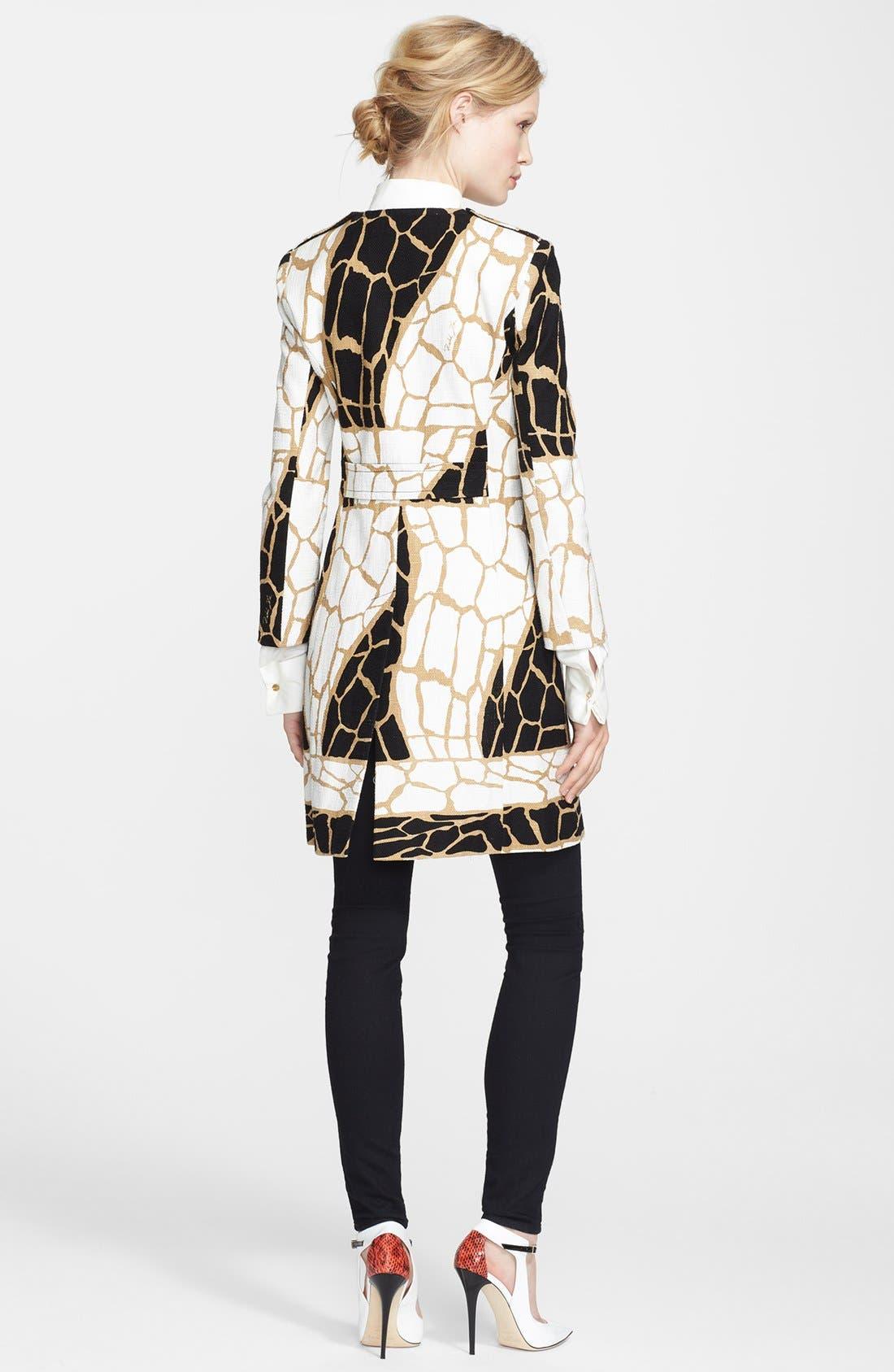 Alternate Image 2  - Rachel Zoe 'Mena' Giraffe Print Coat