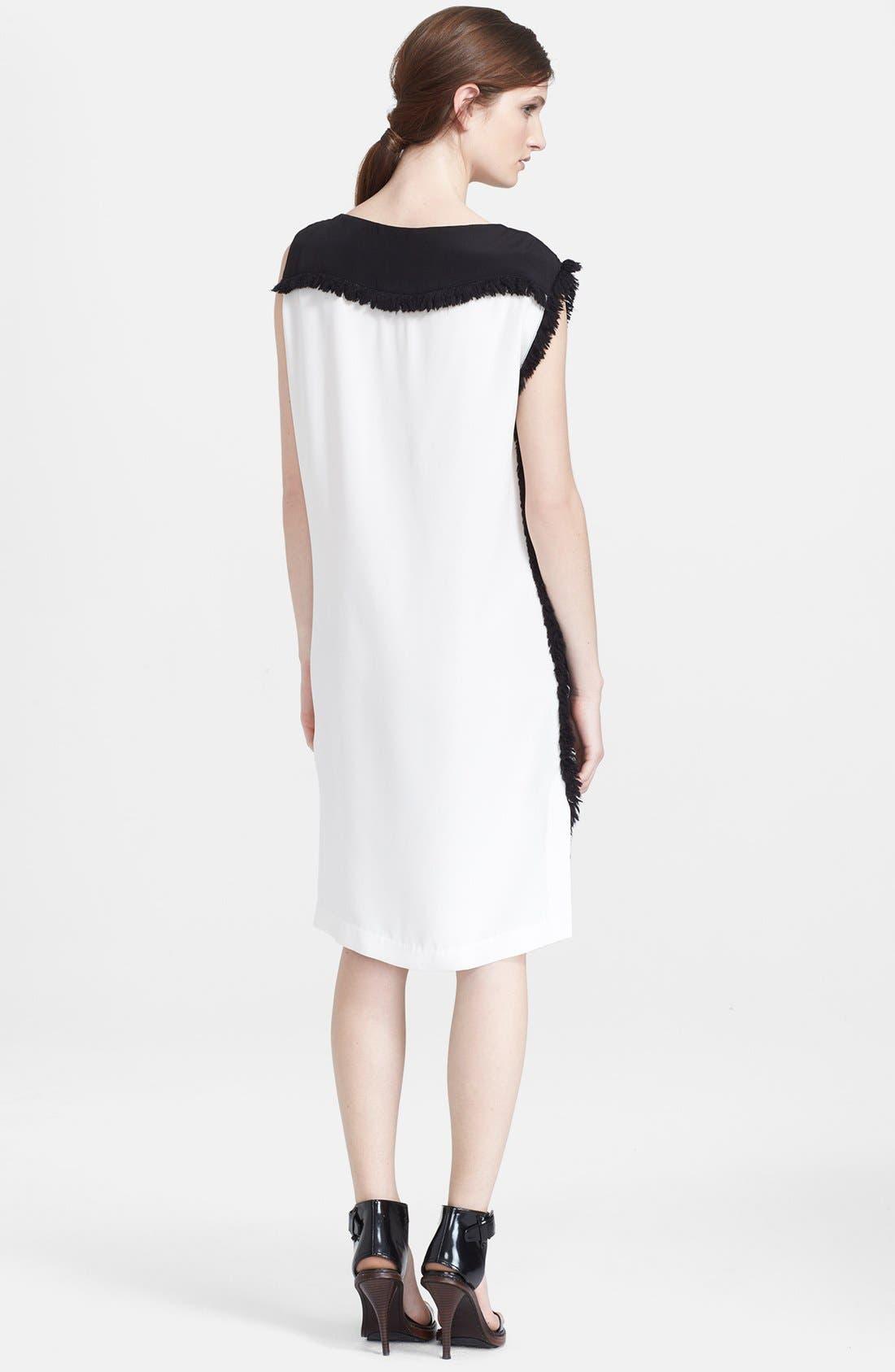 Alternate Image 2  - 3.1 Philip Lim Colorblock Stretch Silk Shift Dress