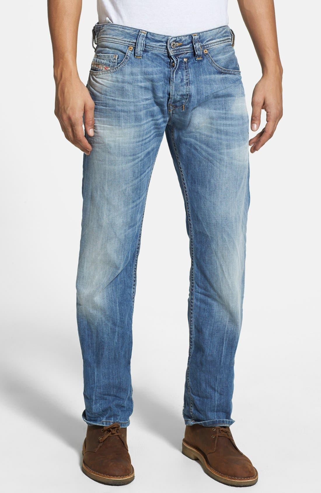 Alternate Image 1 Selected - DIESEL® 'Safado' Slim Fit Jeans (826D)