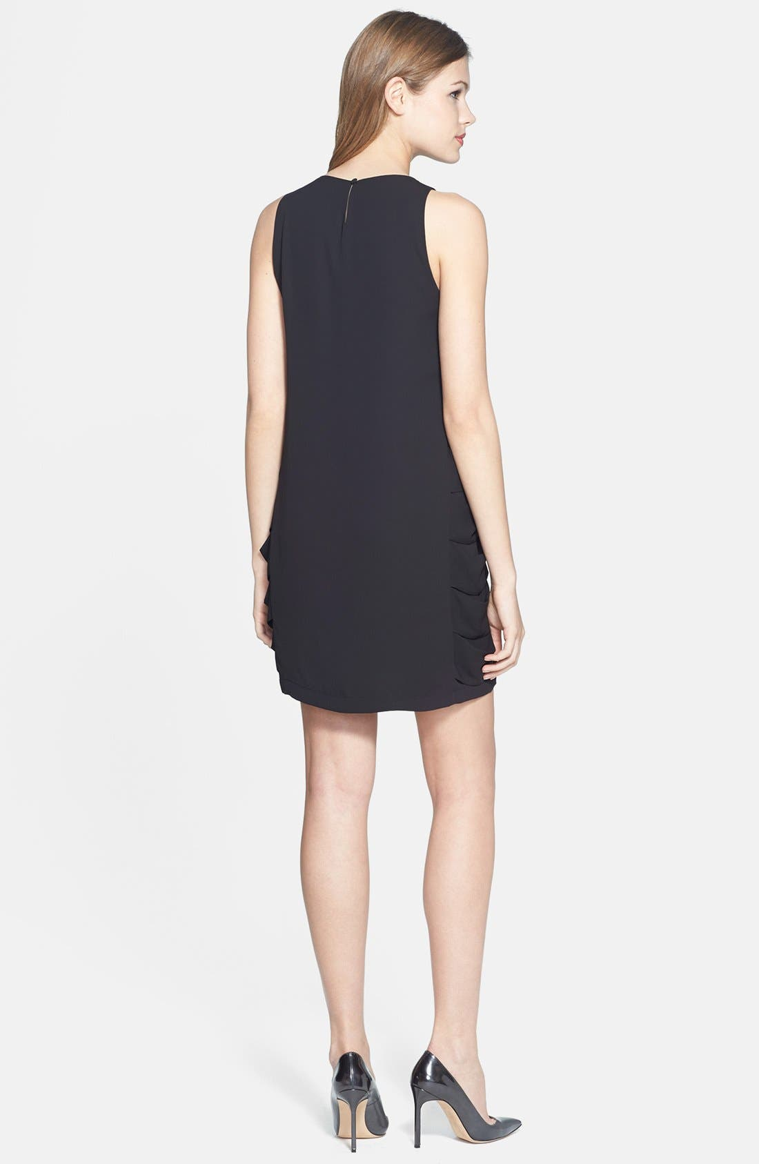 Alternate Image 3  - BCBGMAXAZRIA 'Eren' Side Slash Georgette Dress