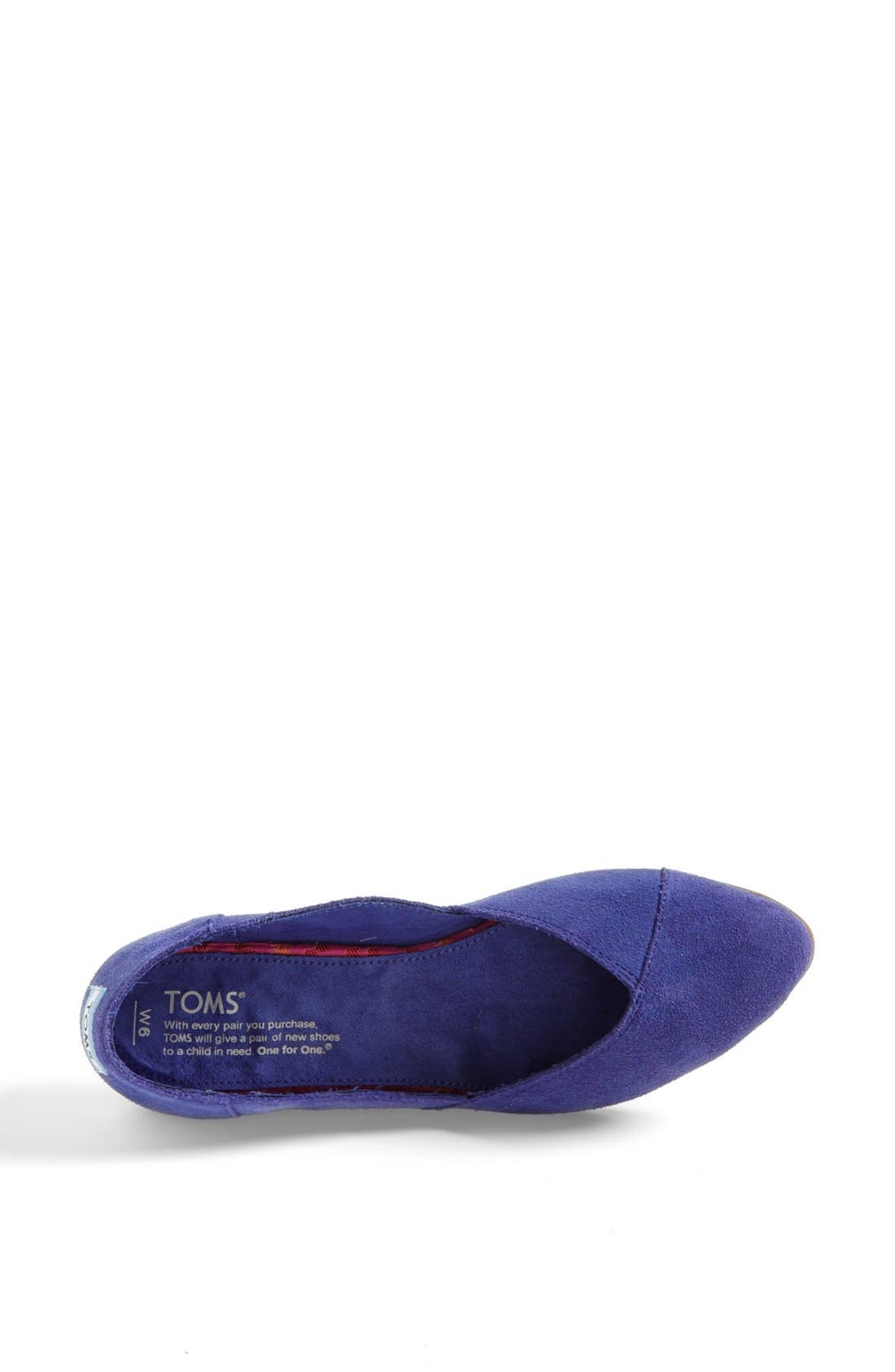 Alternate Image 3  - TOMS 'Jutti' Slip-On (Women)