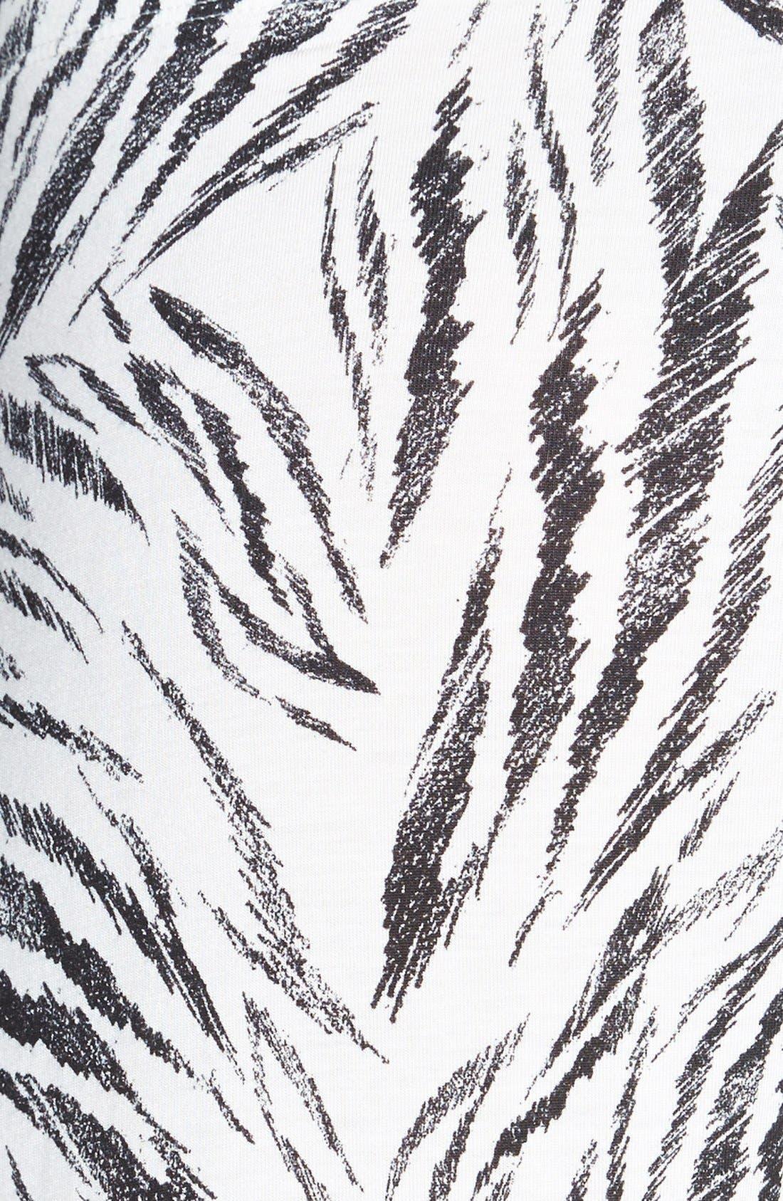Alternate Image 3  - PJ Luxe 'Tiger Stripe' Crop Pants
