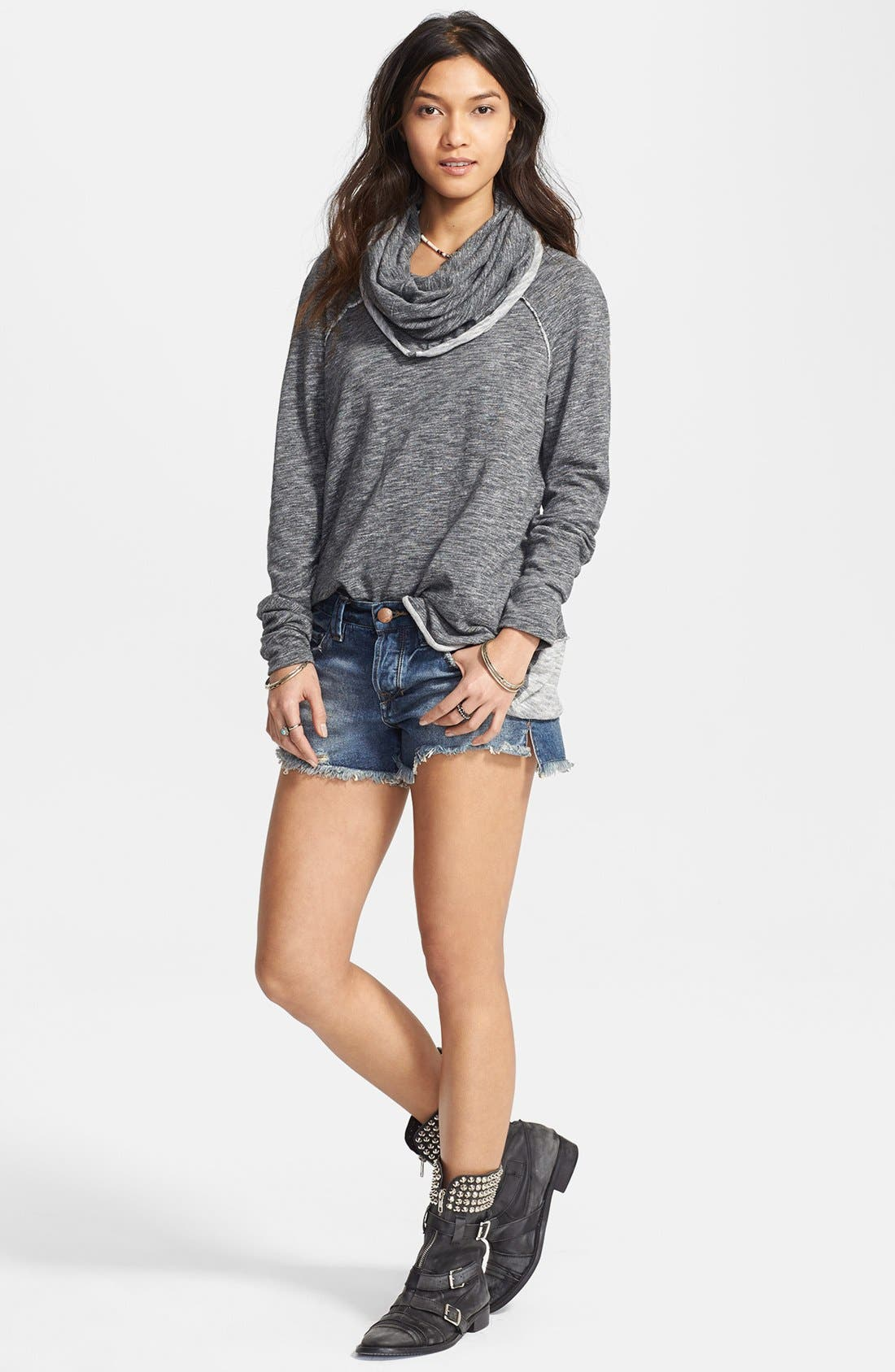 Alternate Image 5  - Free People 'Beach Cocoon' Cowl Neck Pullover