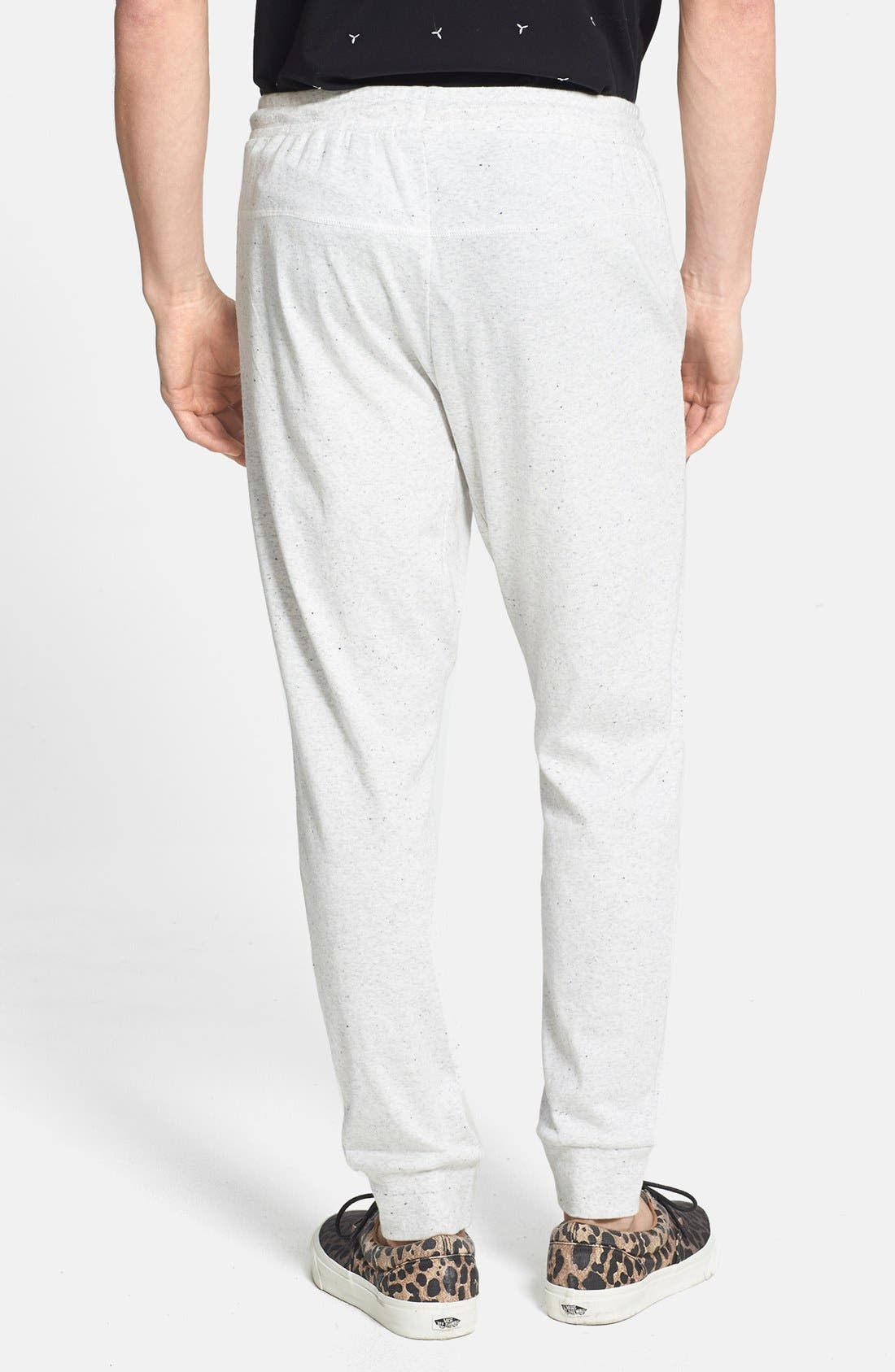 Alternate Image 2  - TOPMAN ECRU NEP SWEATPANTS