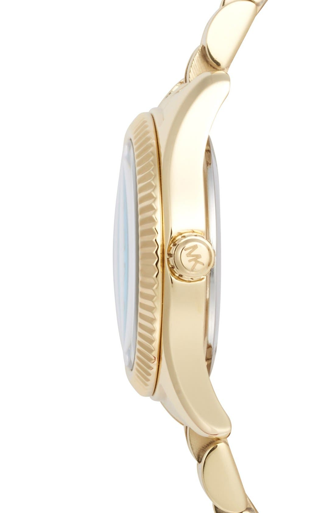 Alternate Image 3  - Michael Kors 'Petite Lexington' Bracelet Watch, 26mm