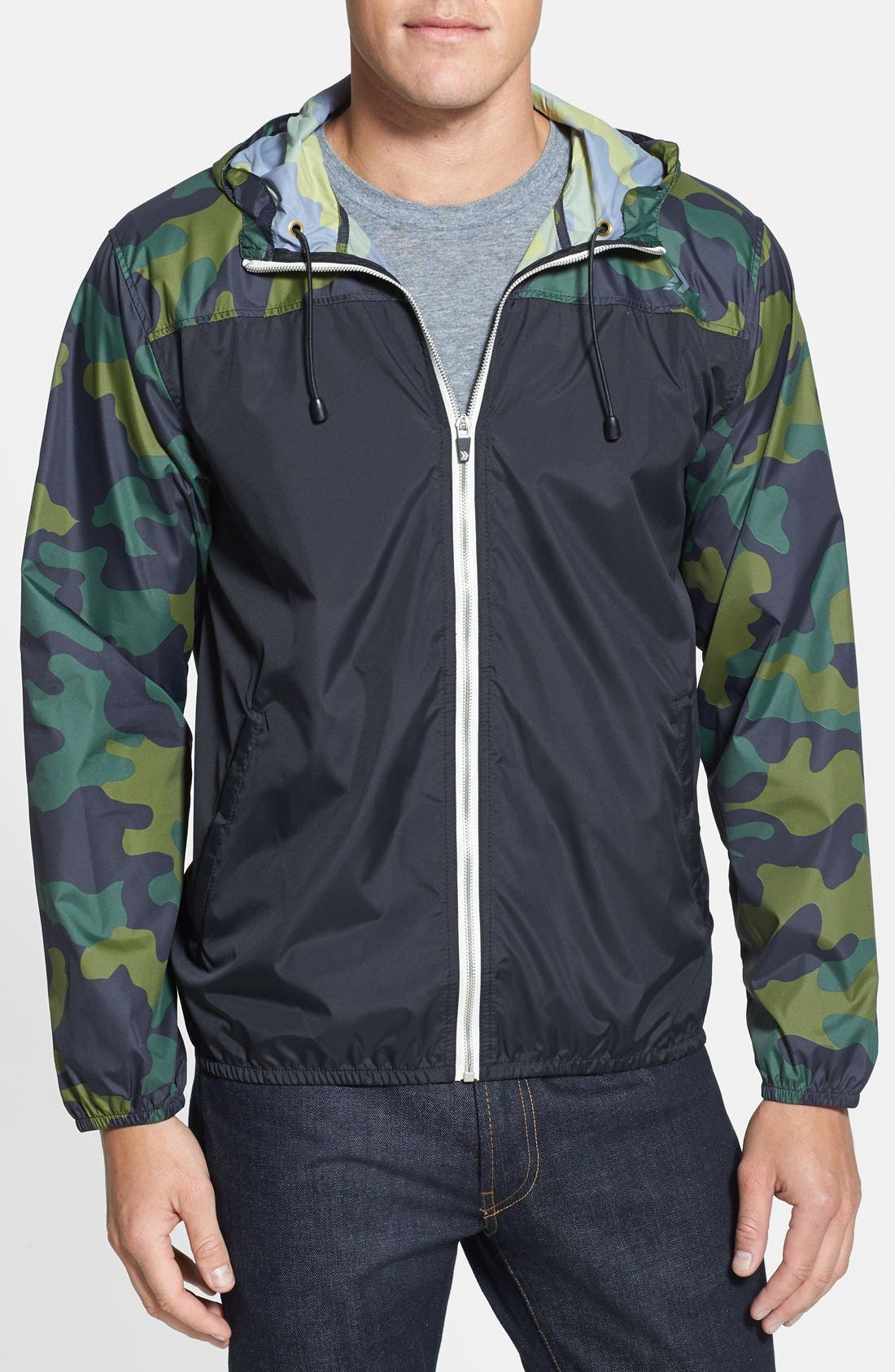 Alternate Image 1 Selected - Athletic Recon 'Firebee' Hooded Jacket