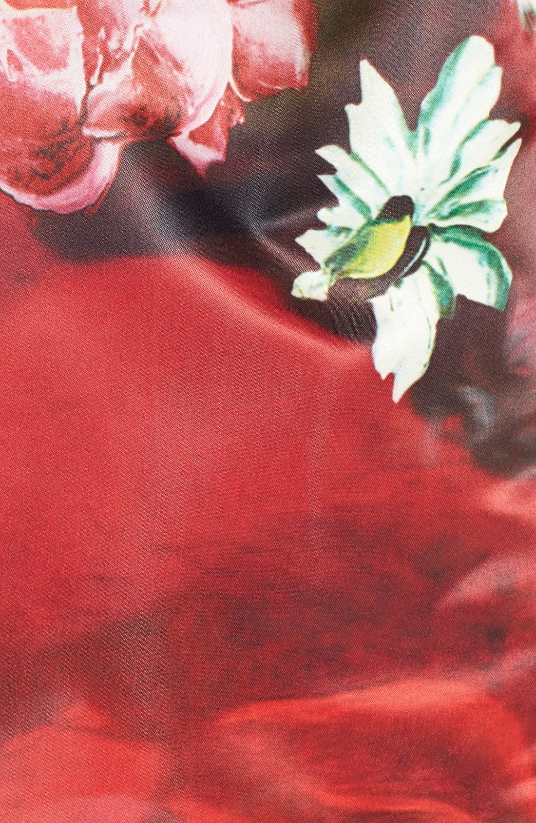 Alternate Image 3  - Ted Baker London 'Monny - Rose on Canvas' Full Skirt