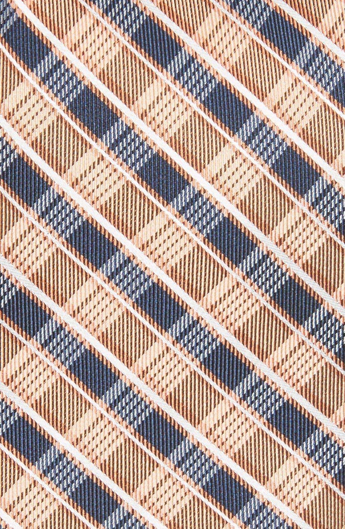 Alternate Image 2  - Michael Kors Plaid Woven Silk Tie