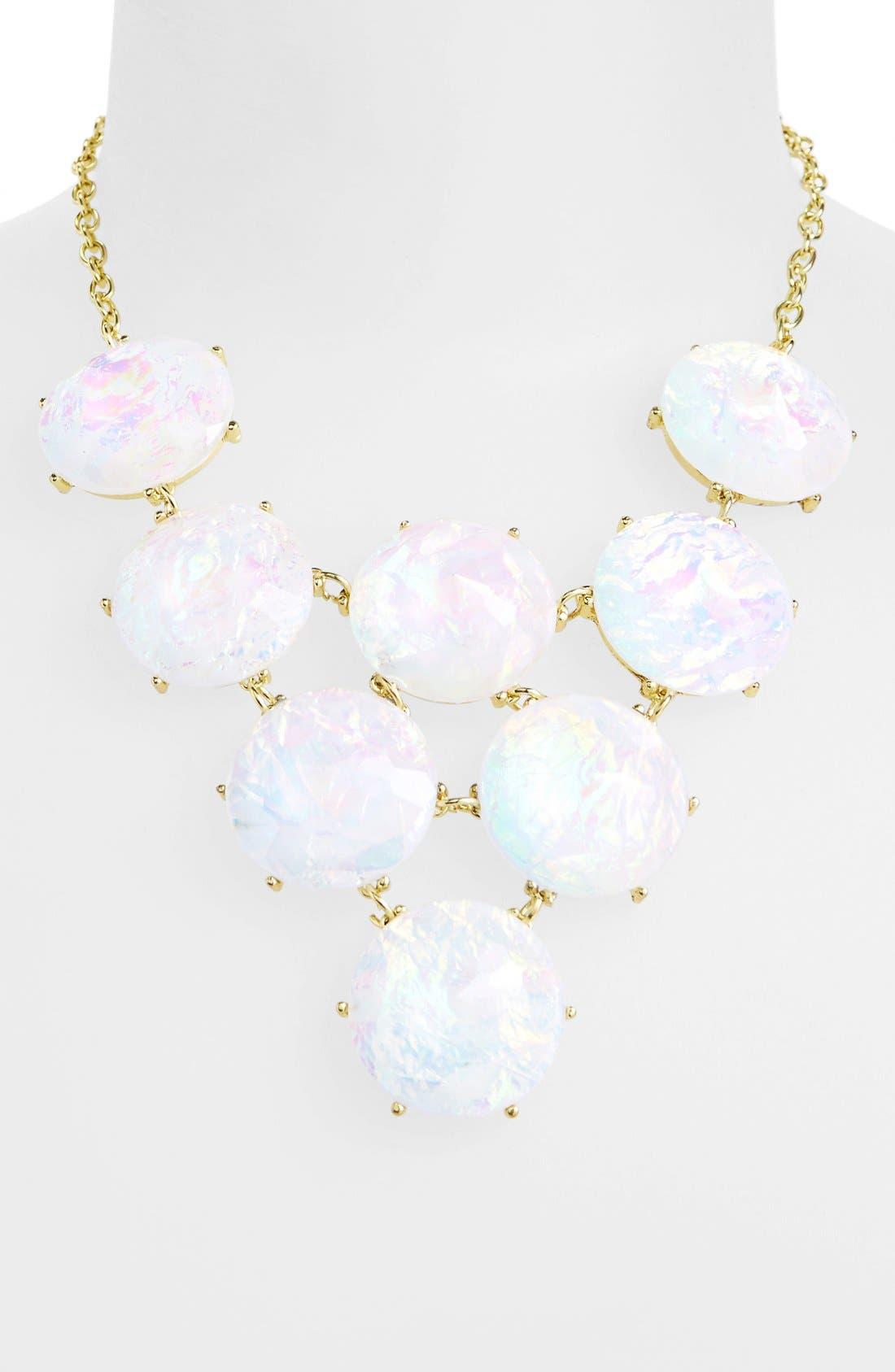 Main Image - Kool Konnections 'Cosmic' Stone Bib Necklace (Juniors) (Online Only)