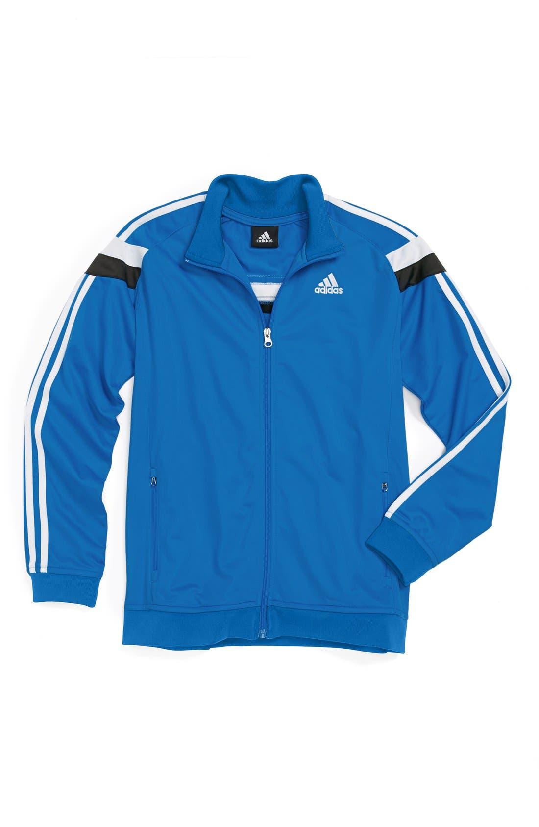 Alternate Image 1 Selected - adidas 'Anthem' Jacket (Big Boys)