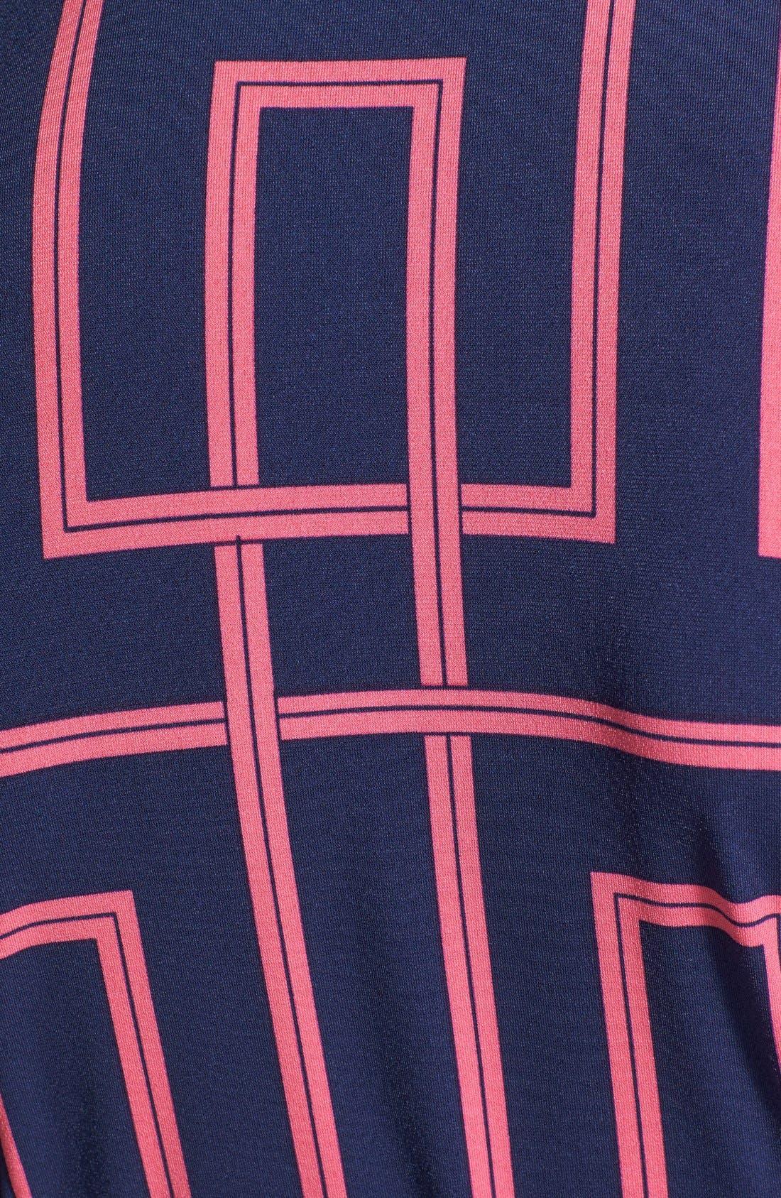 Alternate Image 4  - Maggy London Print Jersey Shirtdress