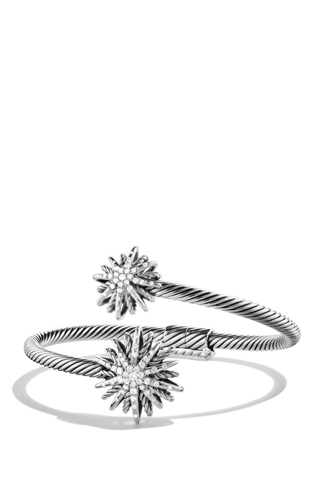 David Yurman 'Starburst' Diamond Coil Bracelet