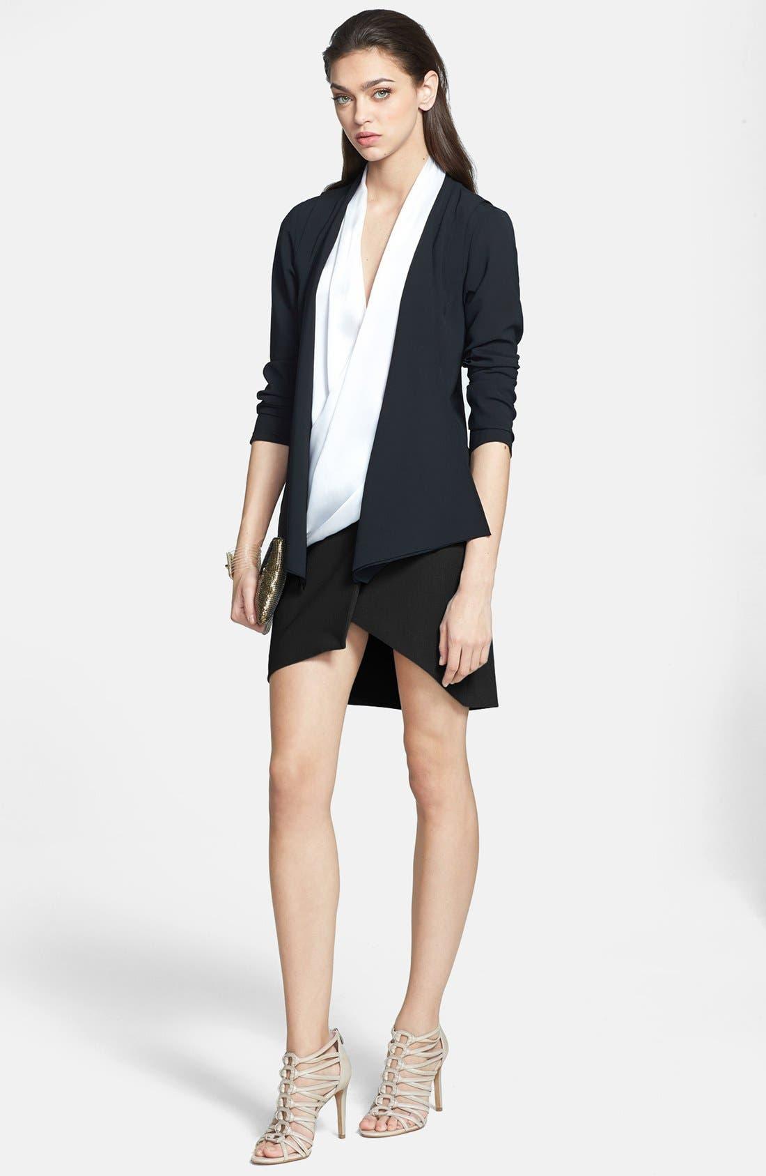 Alternate Image 6  - Trouvé Asymmetrical Miniskirt