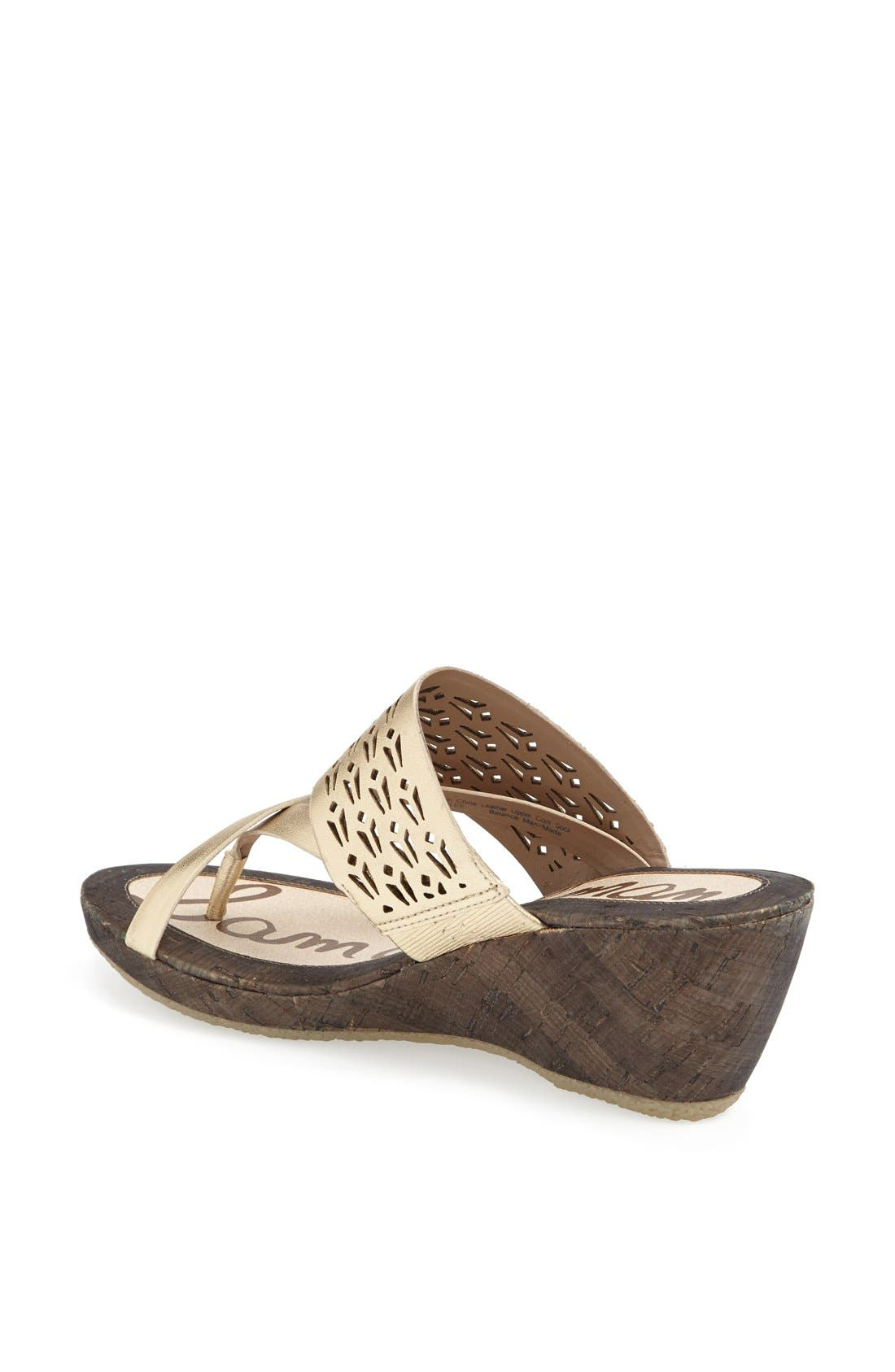 Alternate Image 2  - Sam Edelman 'Nylee' Wedge Sandal